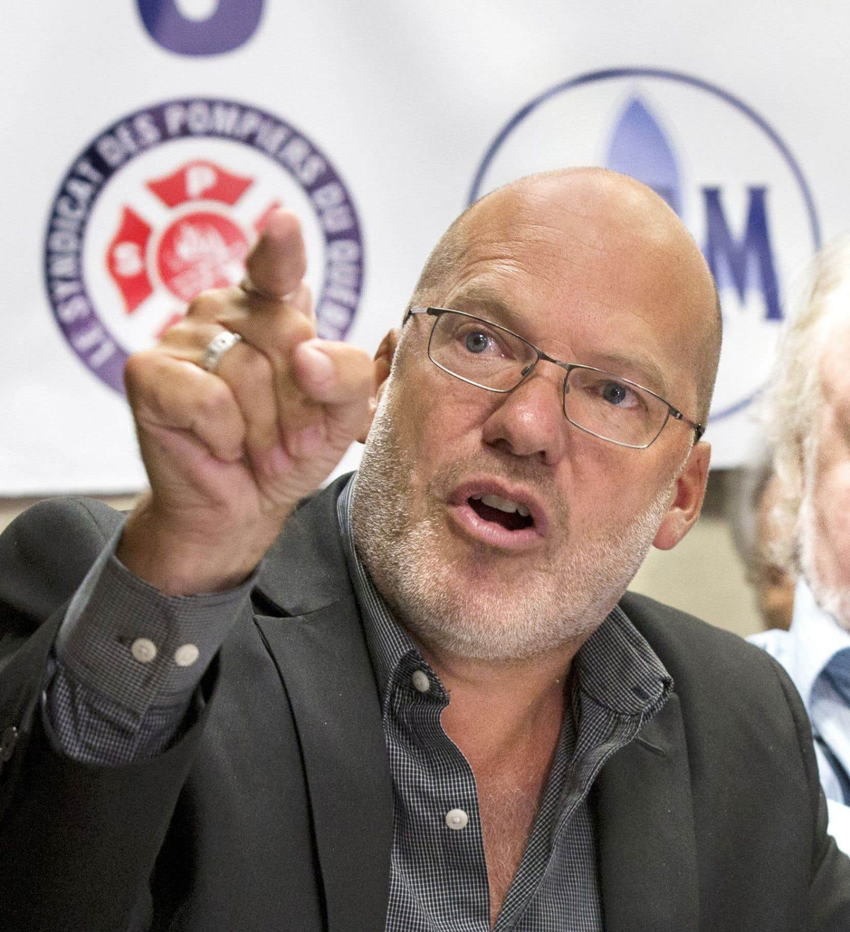 Marc Ranger, de la Coalition syndicale pour la libre négociation