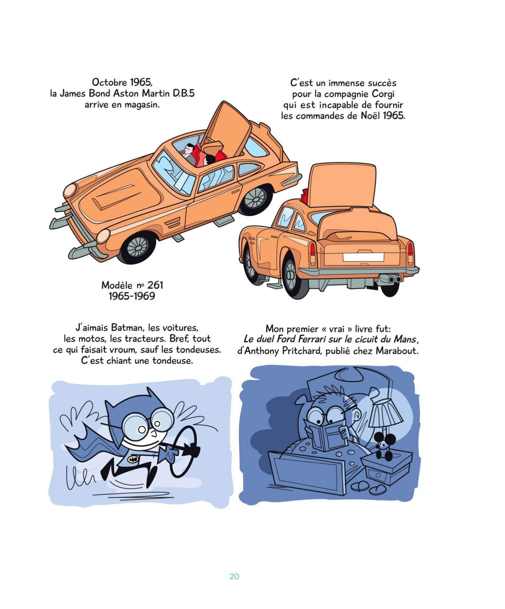 Un peu pour les enfants, un peu pour les parents, Mes Dinky explore le monde de l'enfance.