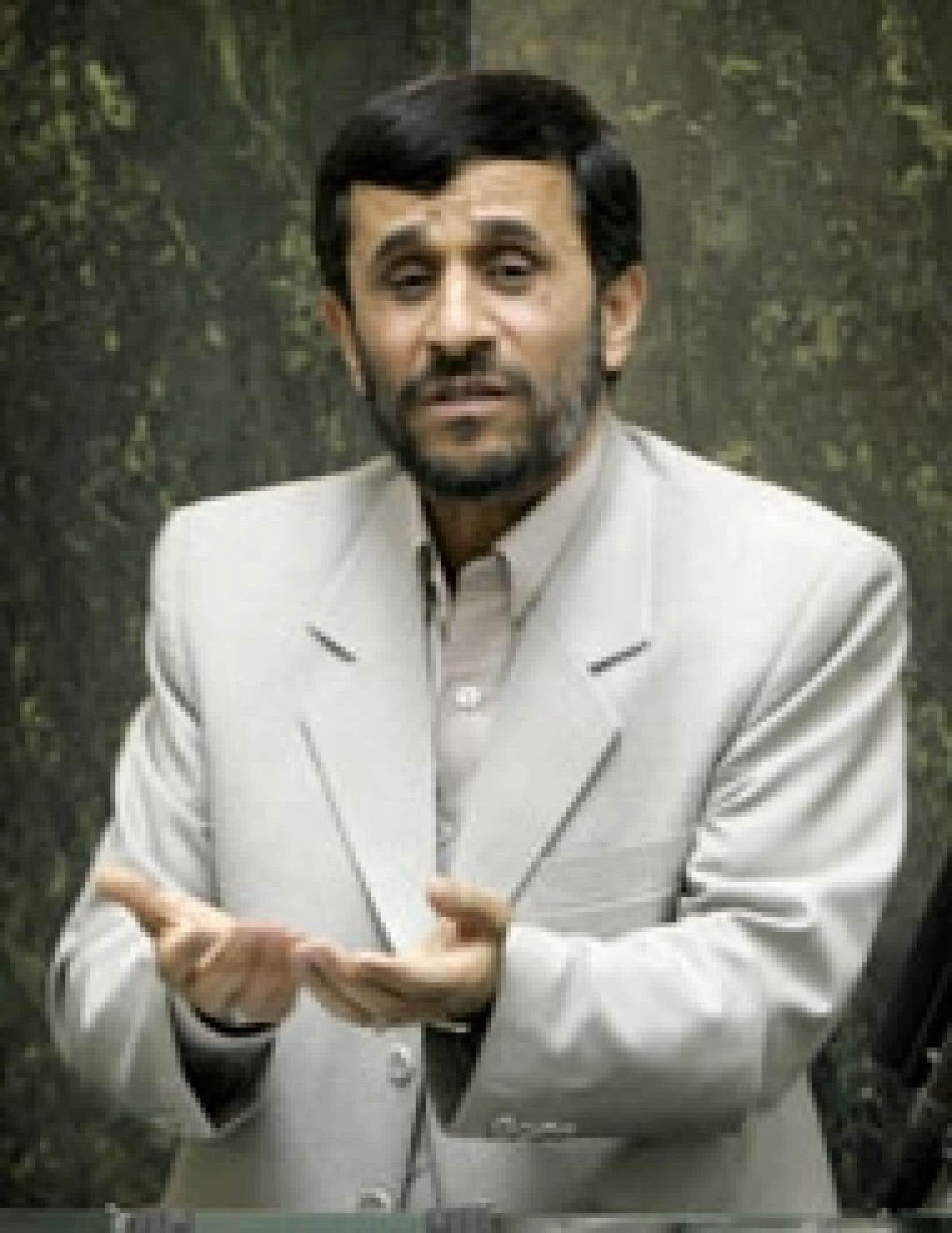 Le président iranien, Mahmoud Ahmadinejad