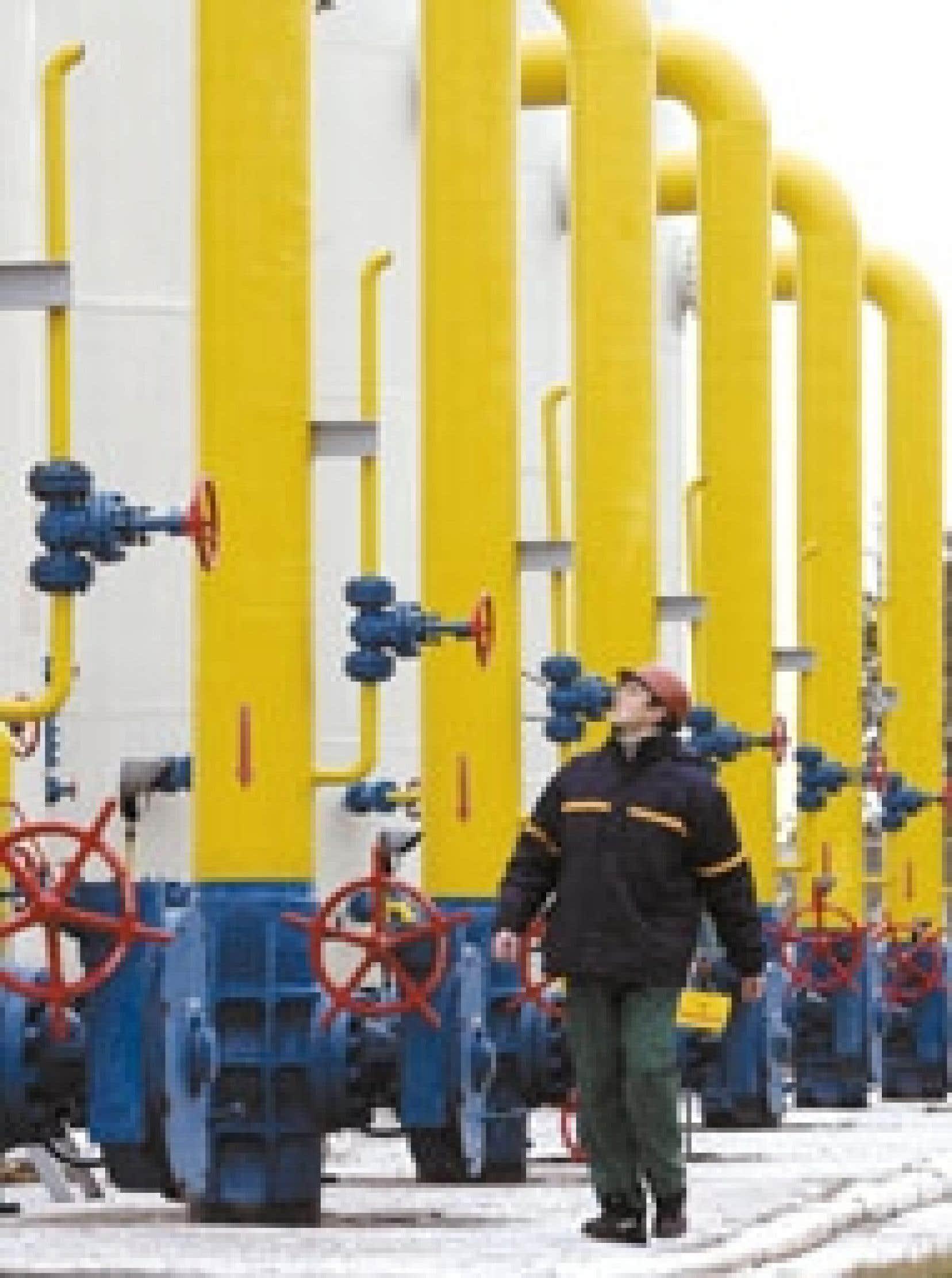 Dans un complexe énergétique près de Kiev.