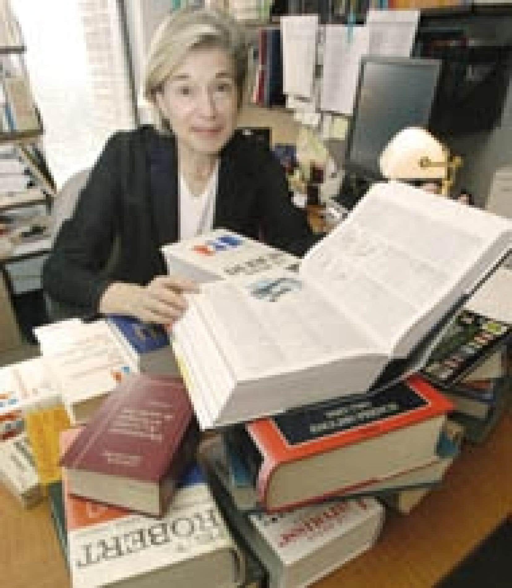 Source Université de Montréal Monique C. Cormier, professeure au département de linguistique et de traduction de l'Université de Montréal.