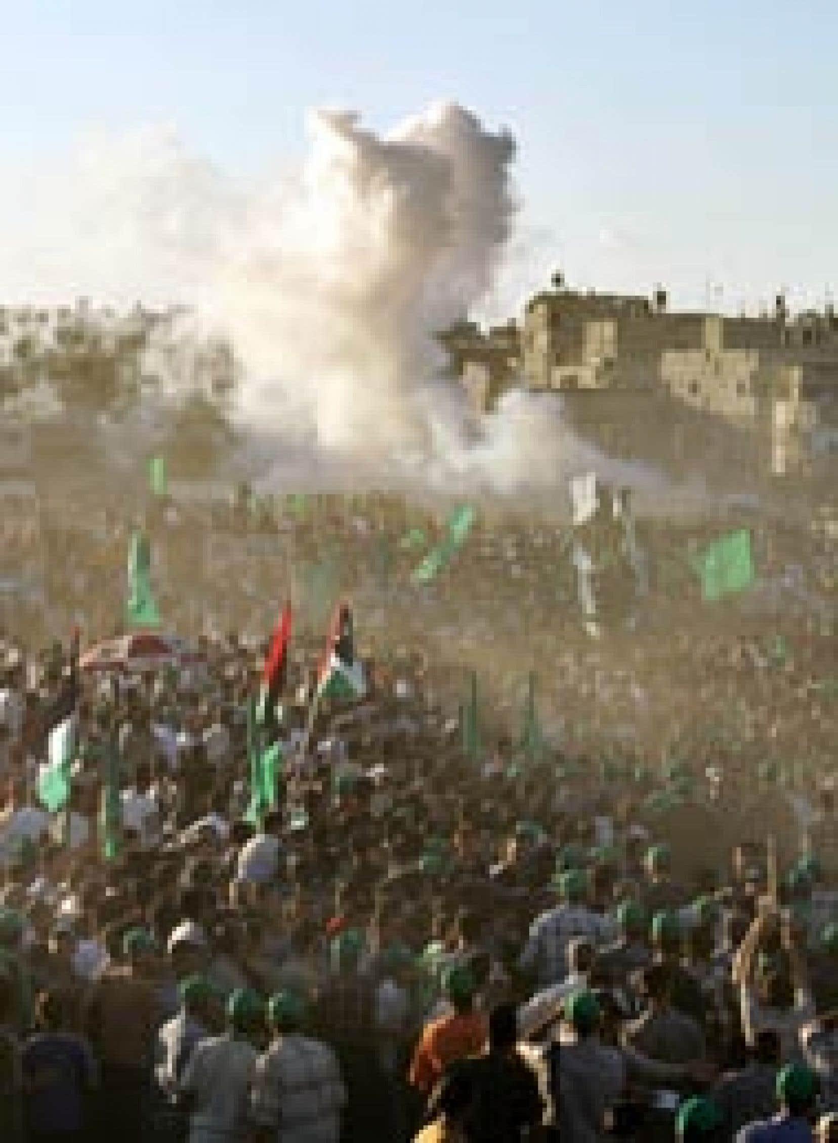 Une explosion s'est produite dans une voiture transportant des activistes de l'aile militaire du Hamas.