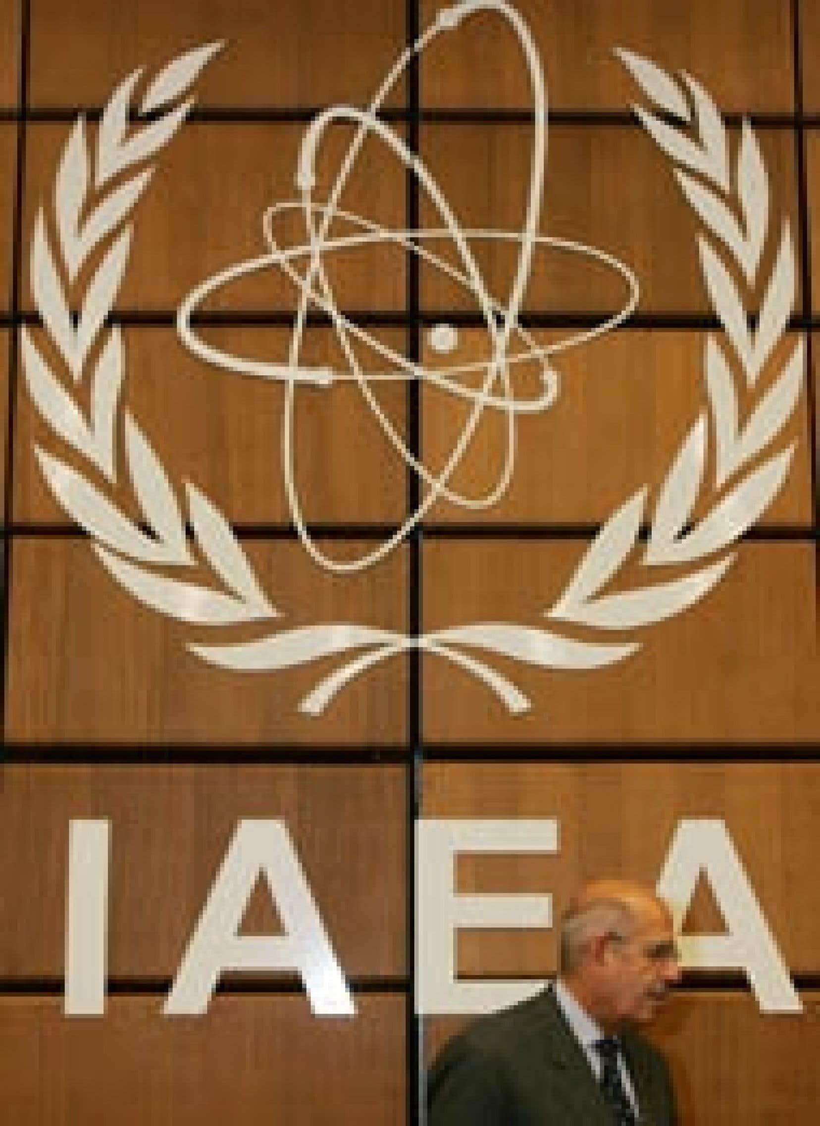 Le directeur général Mohamed el-Baradeï au siège viennois de l'agence onusienne jeudi.al Mohamed el-Baradeï au siège viennois de l'agence onusienne jeudi.