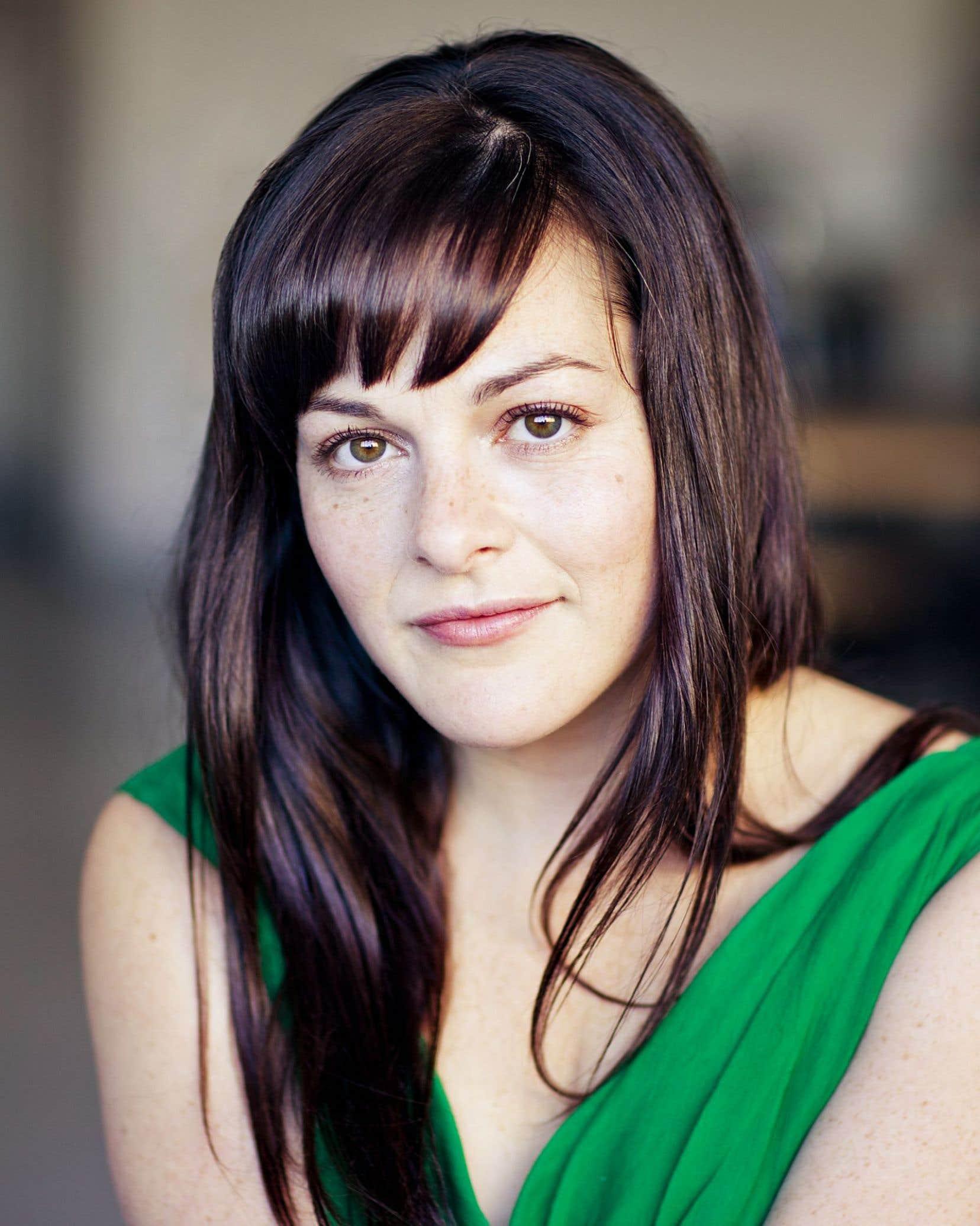 Sophie Cadieux explique que la motivation du projet est partie d'un questionnement sur l'amitié féminine.