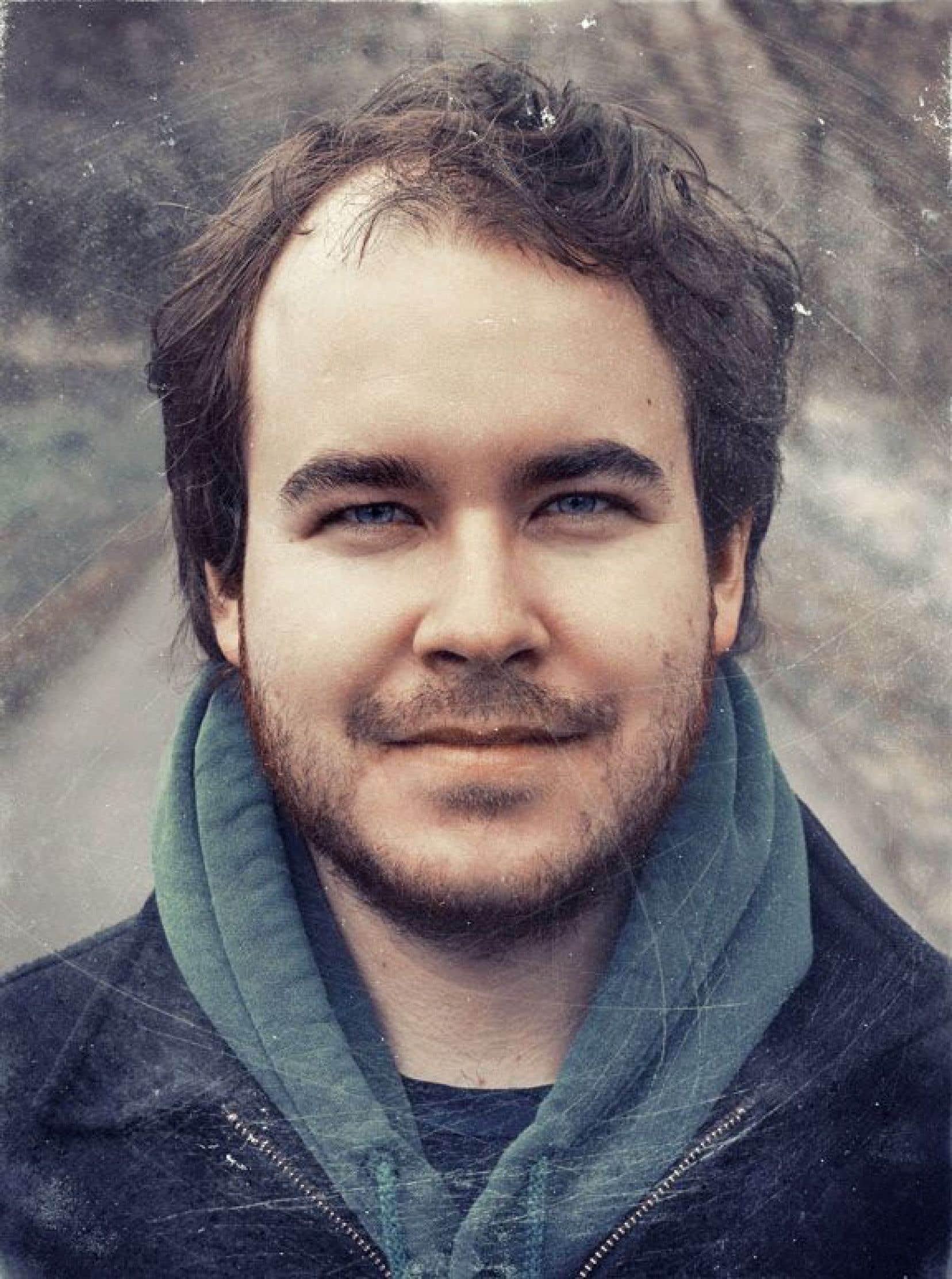 Renaud Boulanger, lauréat du prix Acfas-Fondation Desjardins maîtrise