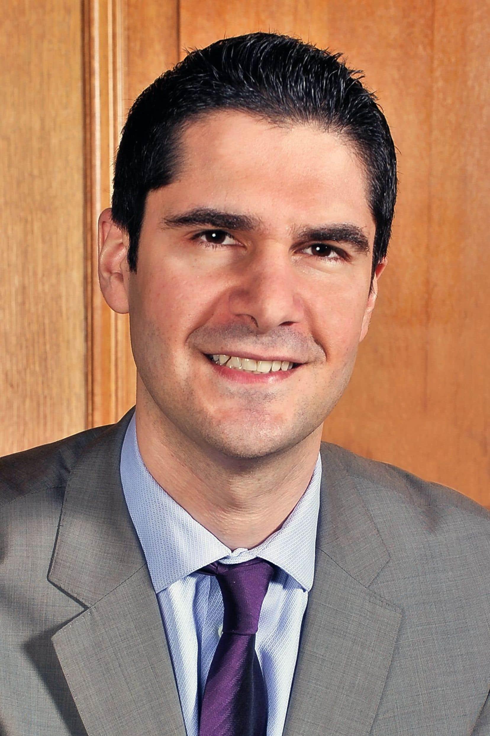 Harout Chitilian, élu responsable de la Ville intelligente au comité exécutif de Montréal.