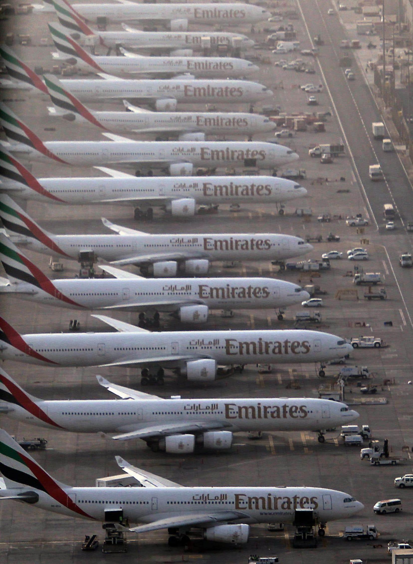 L'aéroport Dubaï International a accueilli 66,4 millions de passagers en 2013 et devrait en voir passer plus de 100 millions d'ici 2020.