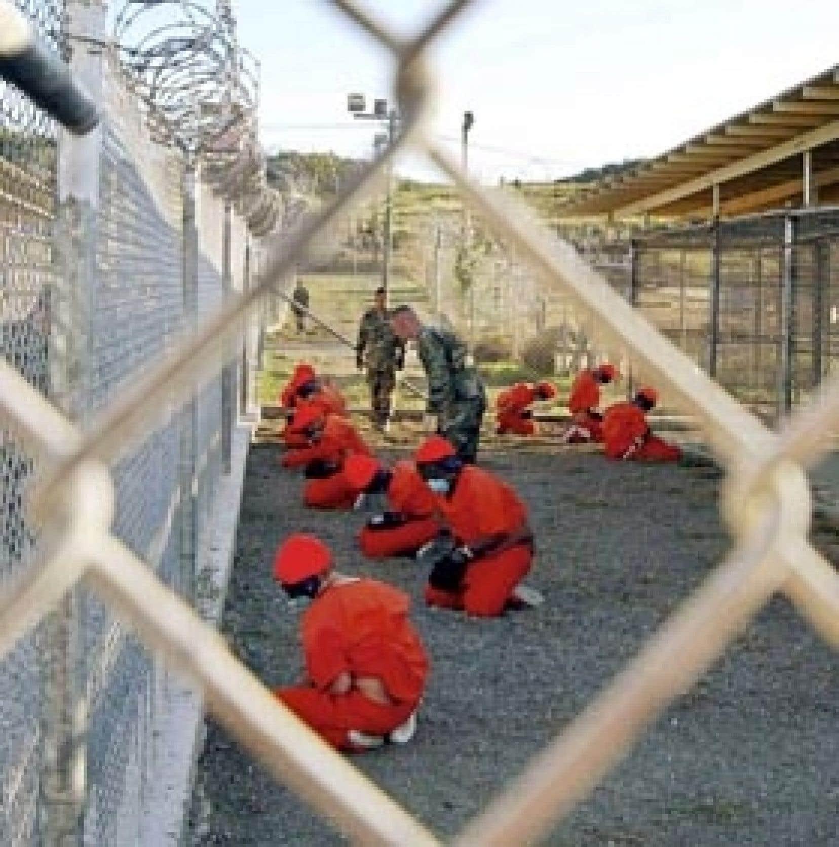 Le camp de Guantánamo en mars 2009.