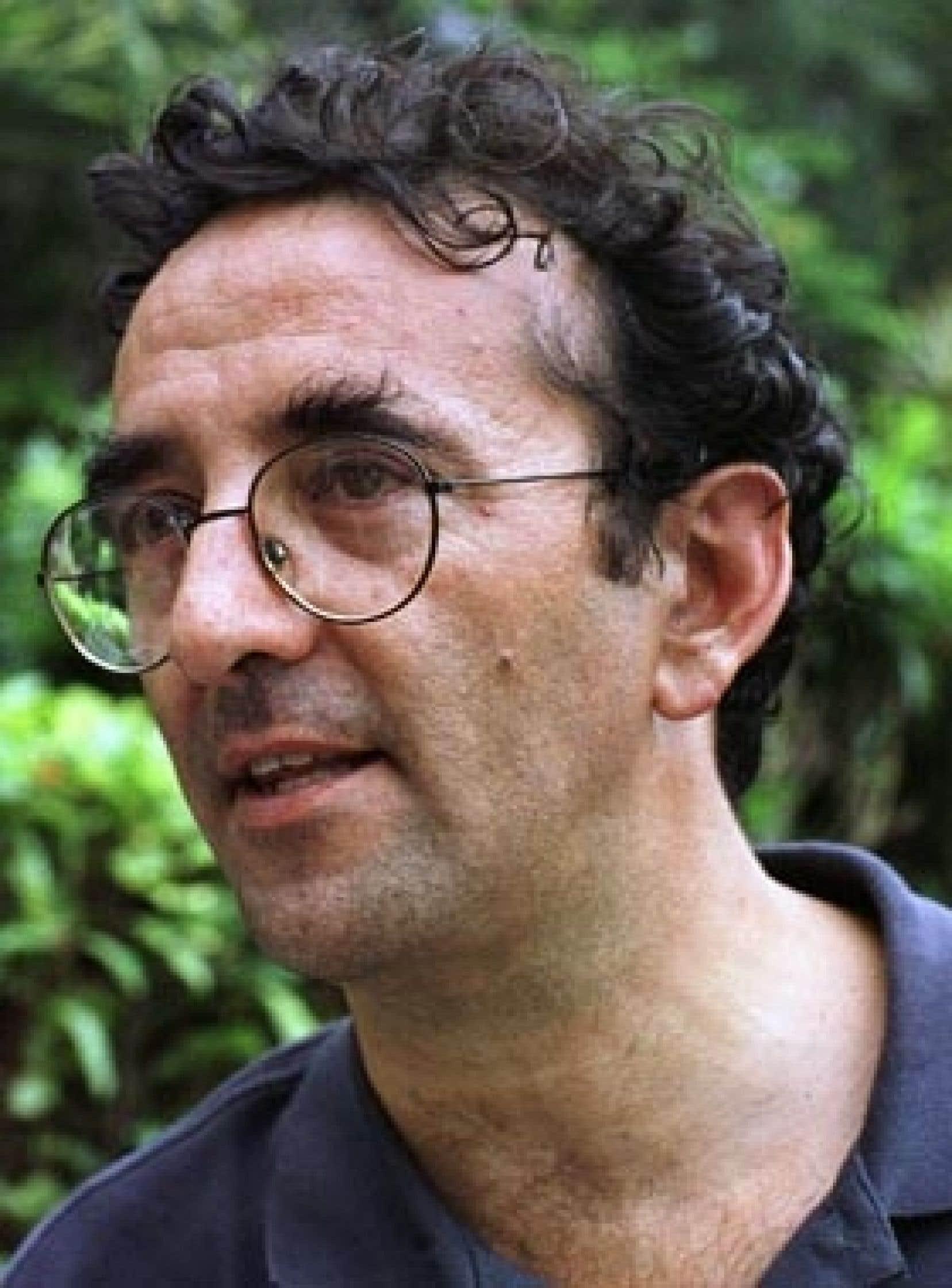L'auteur chilien Roberto Bolano, en 1999