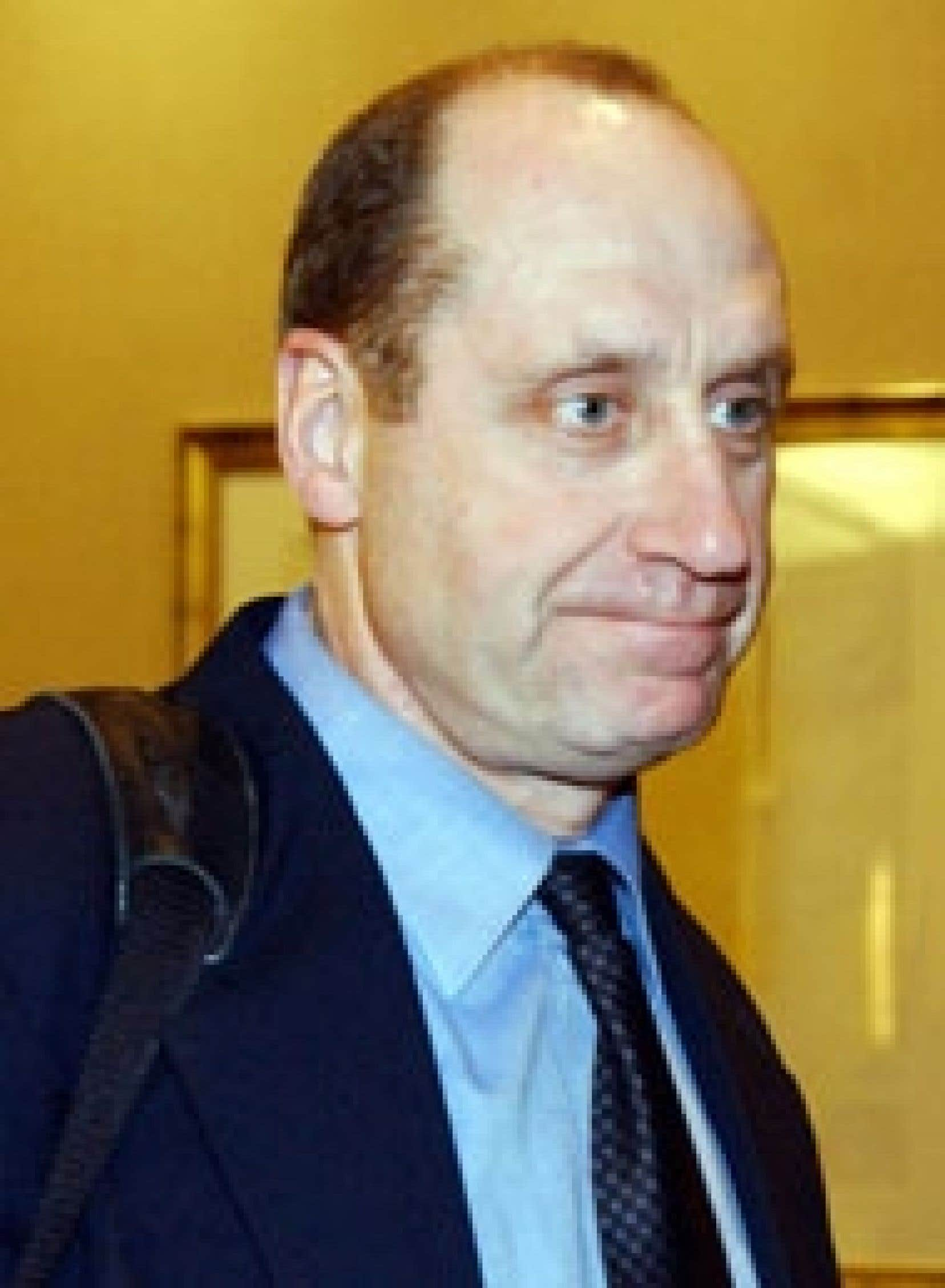 Le directeur général du Canadien de Montréal, Bob Gainey.