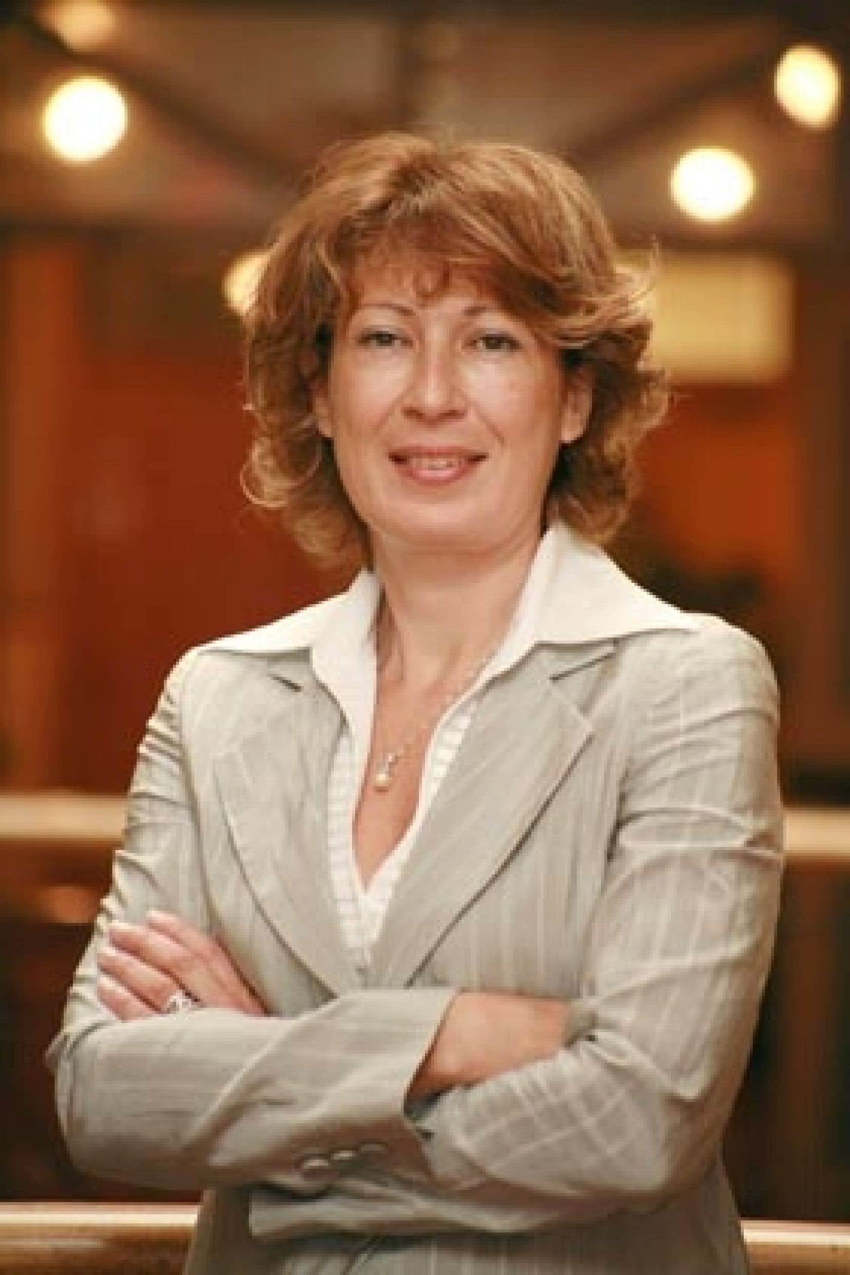 Mona Nemer, vice-rectrice à la recherche de l'Université d'Ottawa et présidente du comité organisateur du 77e congrès de l'Acfas.