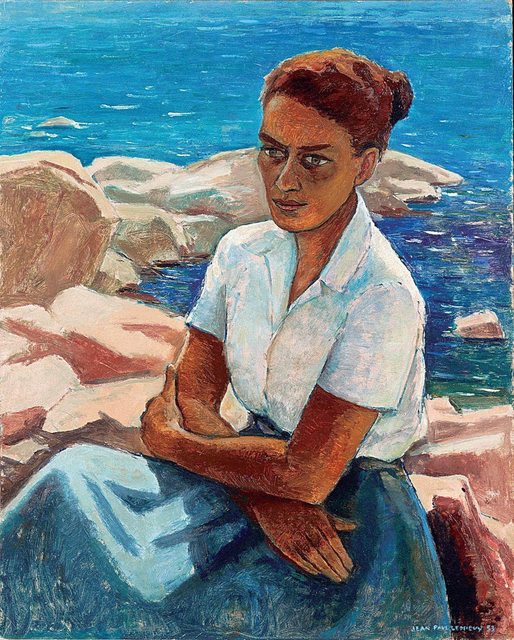 Tableau à l'huile de Jean Paul Lemieux, 1953. L'œuvre a été acquise par Gabrielle Roy, puis Marcel Carbotte, après qu'il en a hérité, l'a cédée à la bibliothèque Gabrielle-Roy de Québec. Elle fait partie de la collection de l'Institut canadien de Québec.