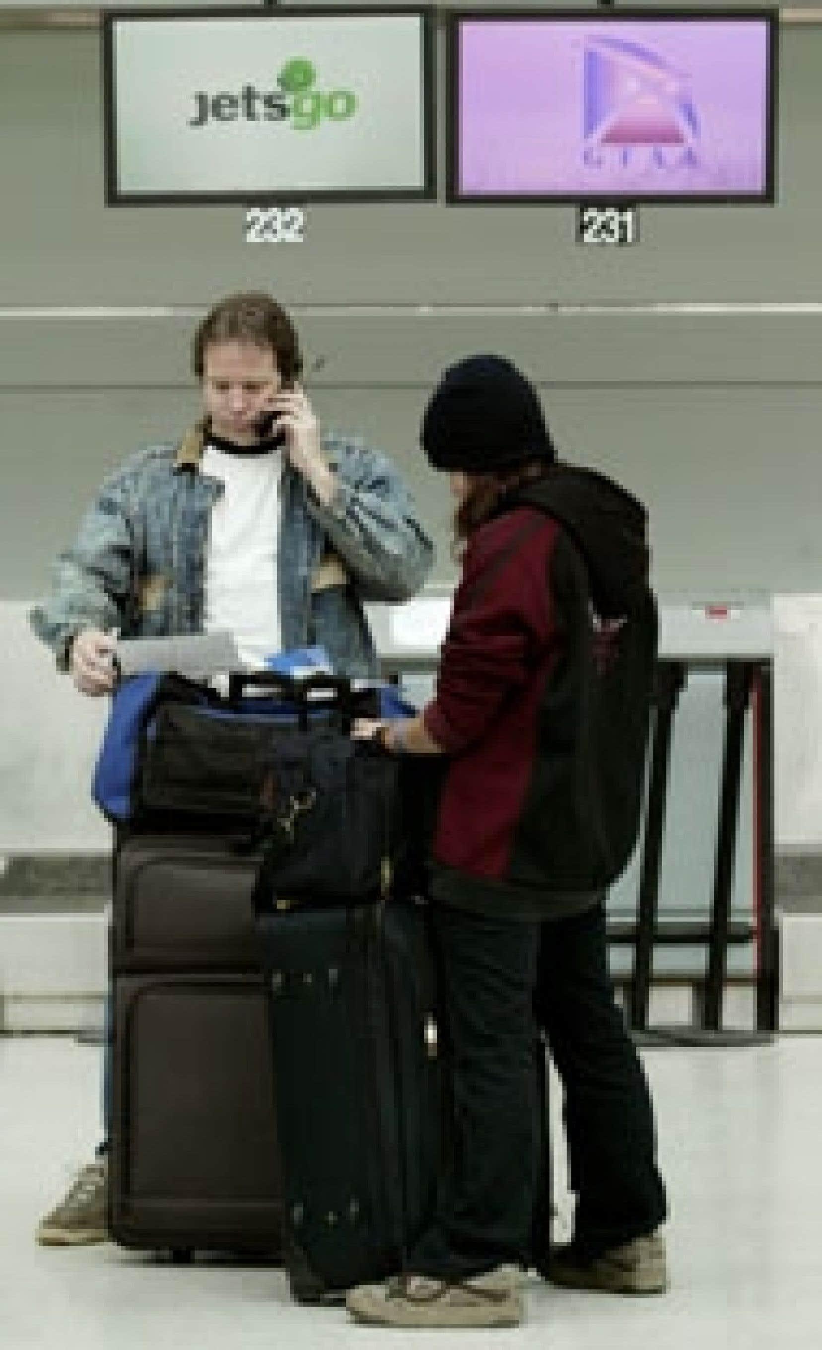La déconfiture de Jetsgo a laissé en plan quelque 17 000 voyageurs au Canada, aux États-Unis et dans les Antilles.