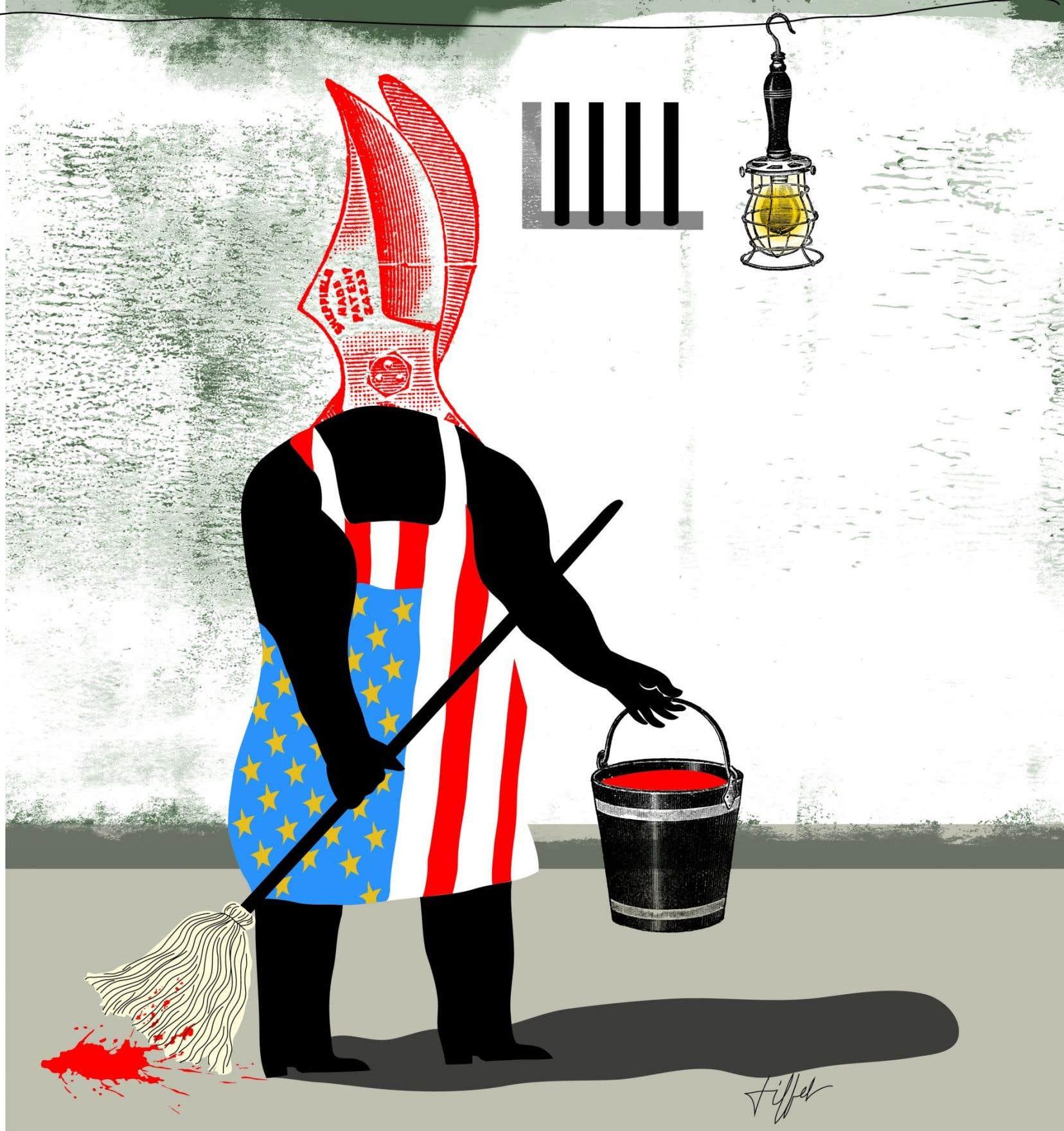 « Il est déconcertant de constater que ces crimes ne sont pas reconnus comme tels puisque aucune poursuite criminelle n'est entamée par le Procureur général des États-Unis. »