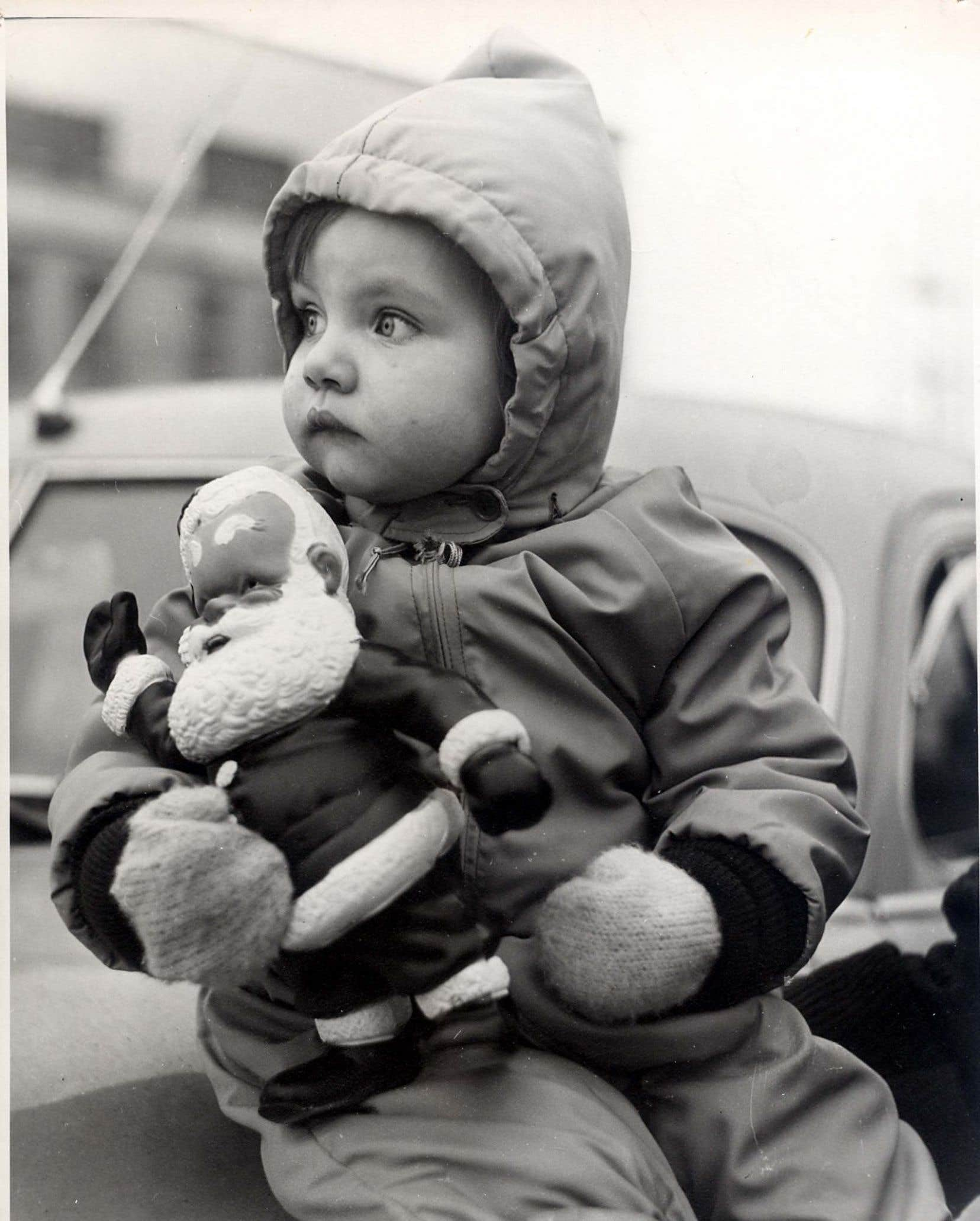 C'était un jour de défilé du père Noël, en 1953.