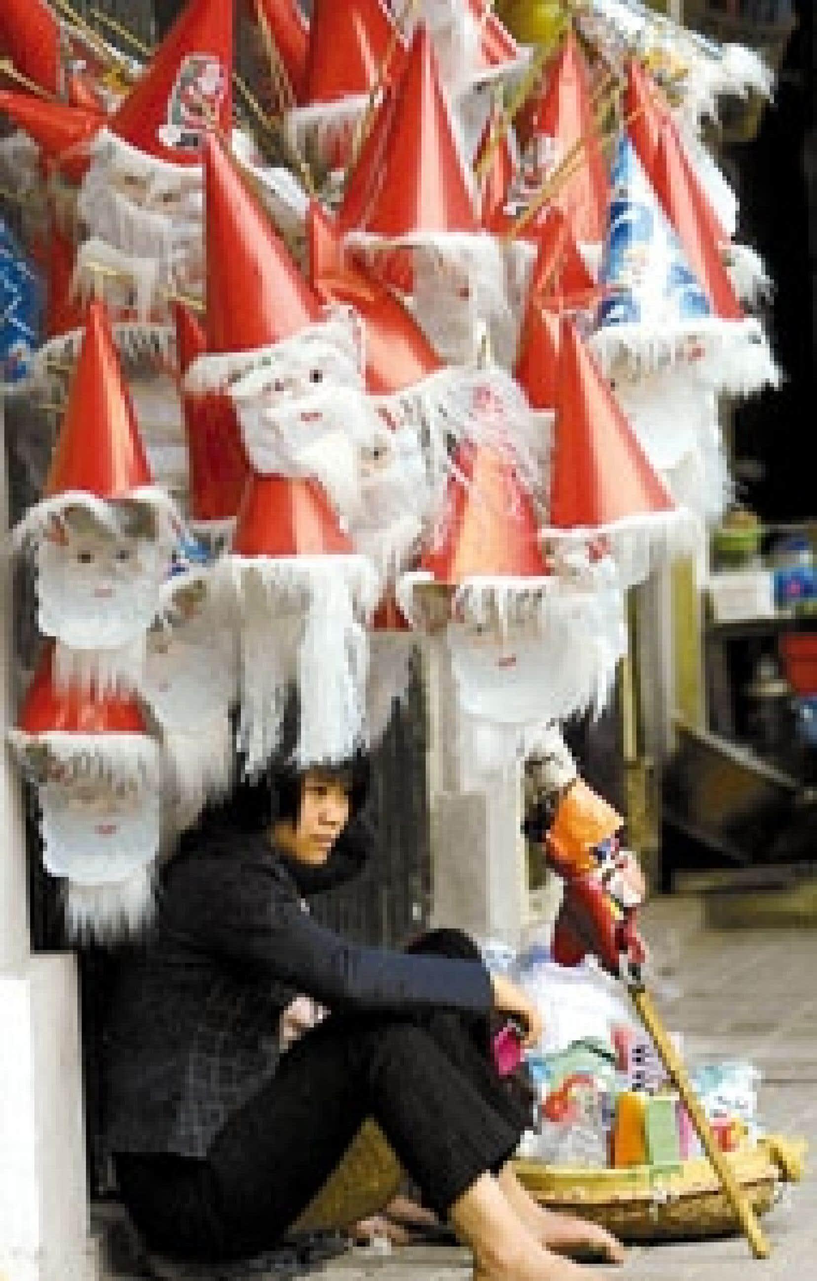 Le règne d'Ông Già Noël (père Noël en vietnamien) est certainement là pour rester.