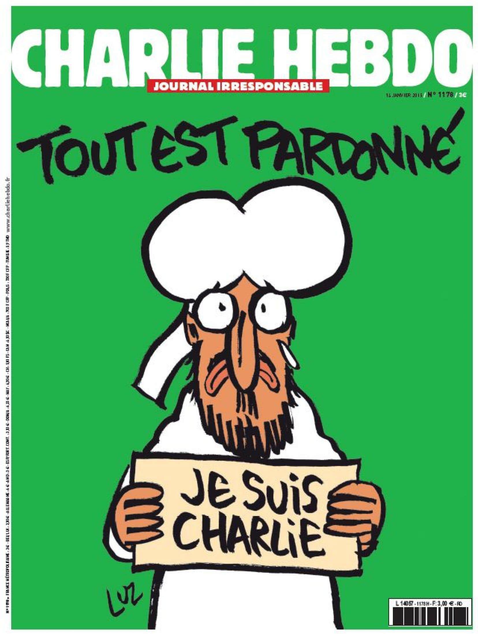 Le bouclage de l'édition de l'après-attentat de Charlie Hebdo s'est joué lundi en début de soirée dans les bureaux de Libération, qui a recueilli la rédaction au lendemain du drame.