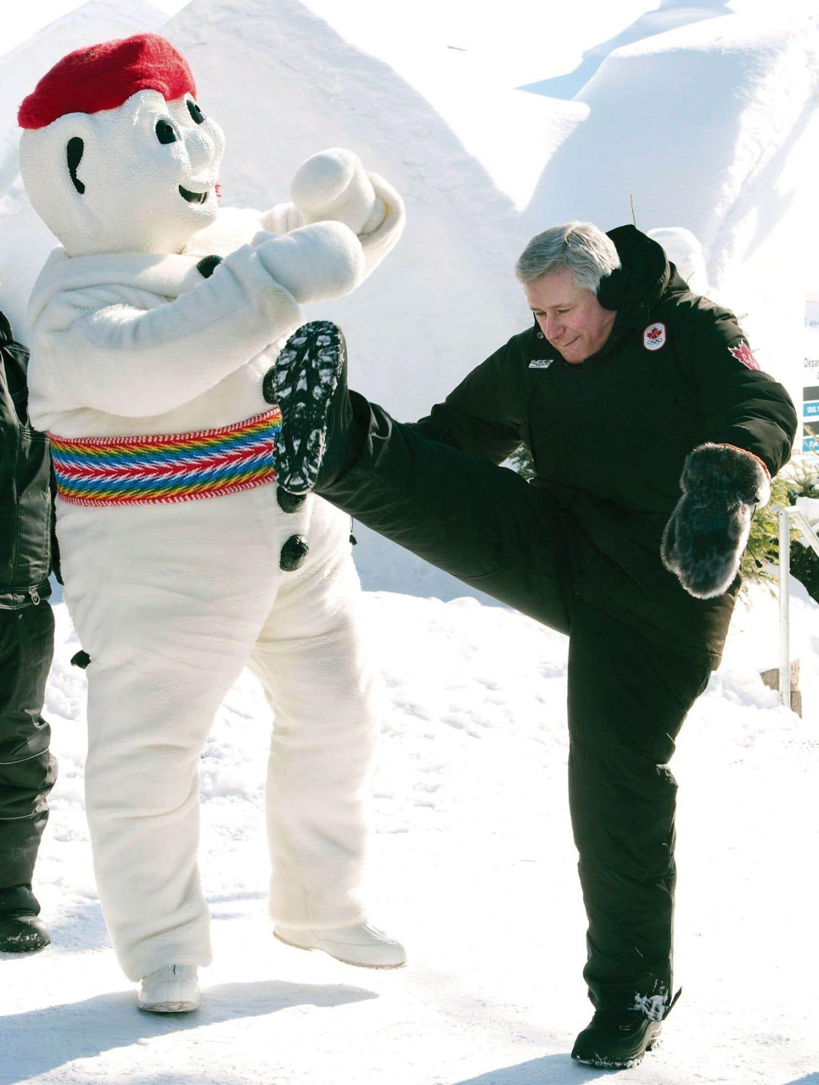 La visite de Stephen Harper à Québec était essentiellement une opération de visibilité préélectorale.