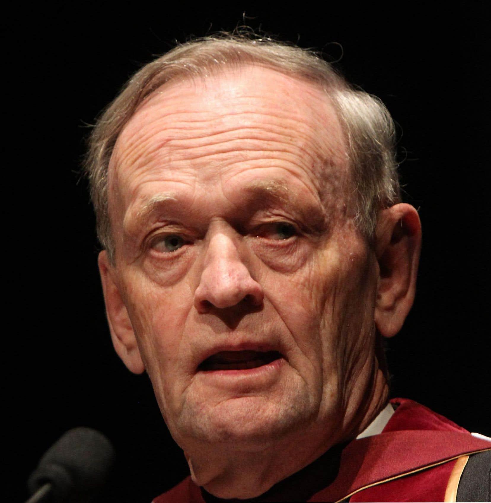 l'ex-premier ministre Jean Chrétien est l'un des signataires.