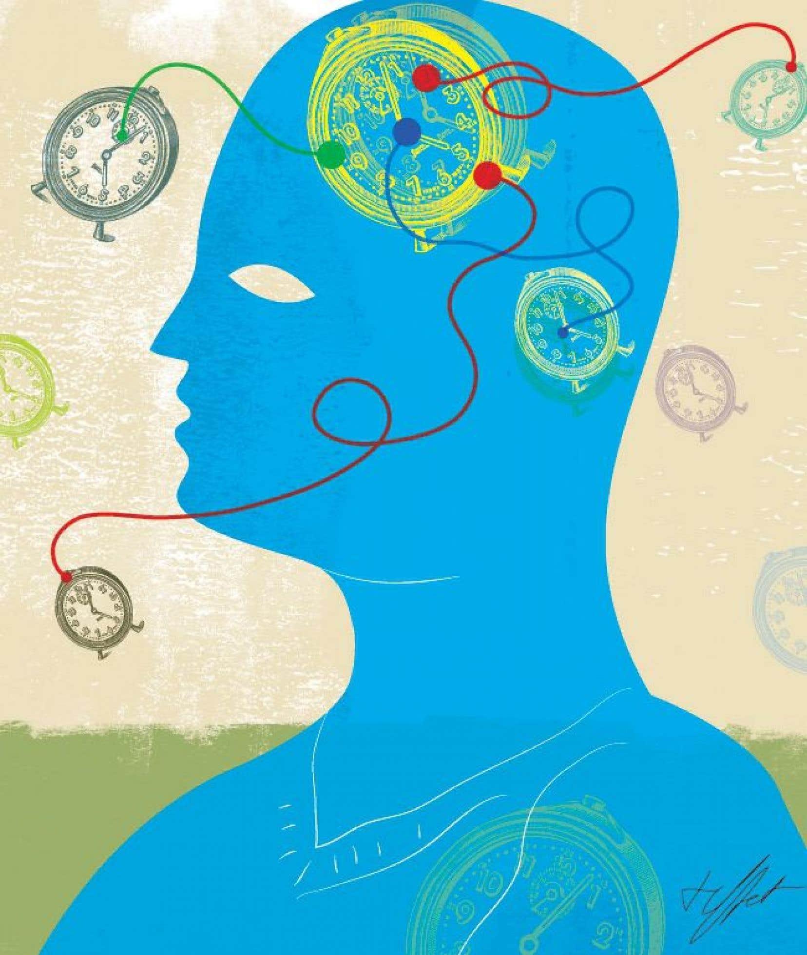 En plus de l'horloge circadienne, le cerveau compte un autre générateur de rythmes, appelés ultradiens, qui déterminent nos cycles d'activité quotidienne.