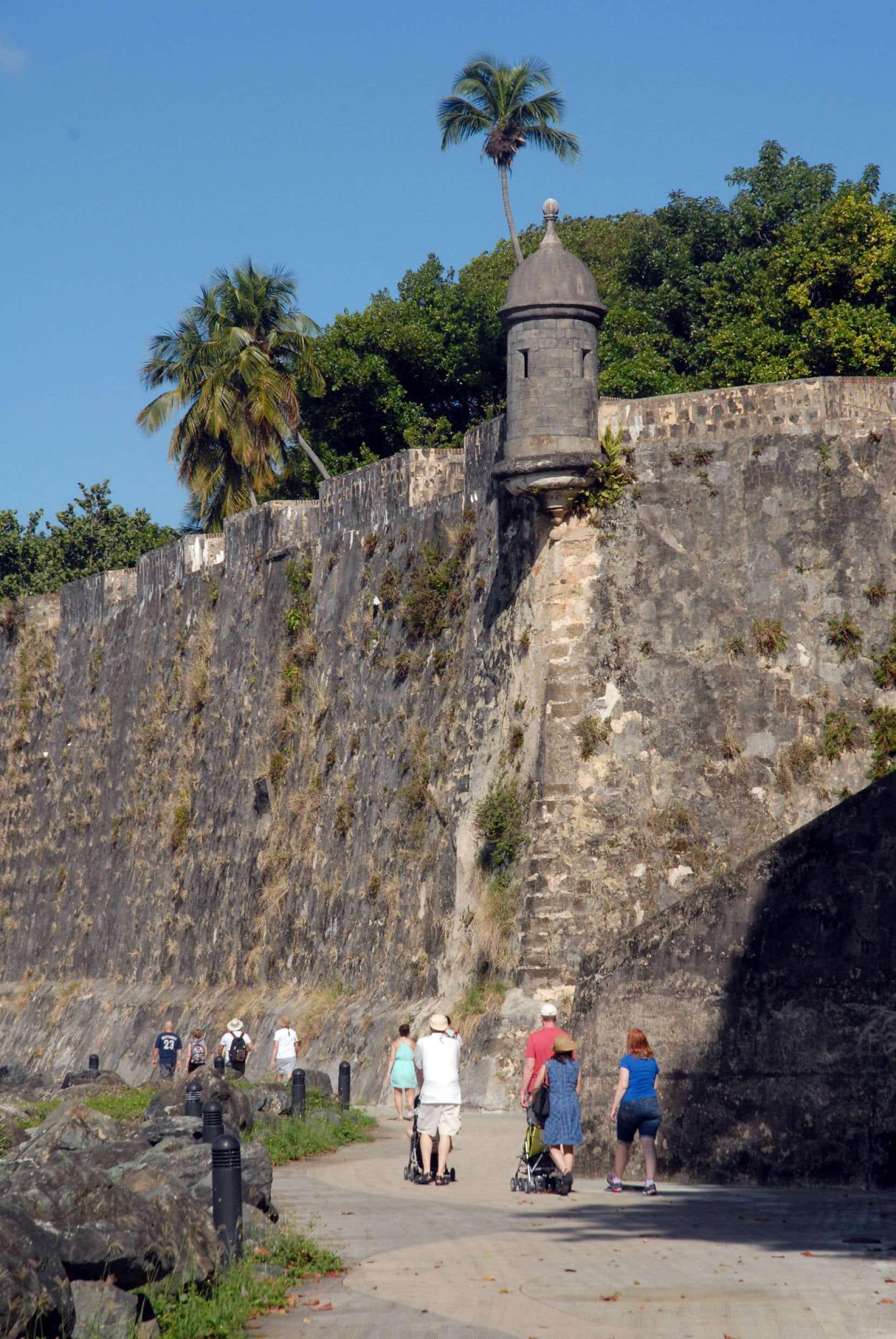 L'imposante forteresse El Morro, à San Juan, est la plus ancienne construite par les Espagnols dans le Nouveau Monde.