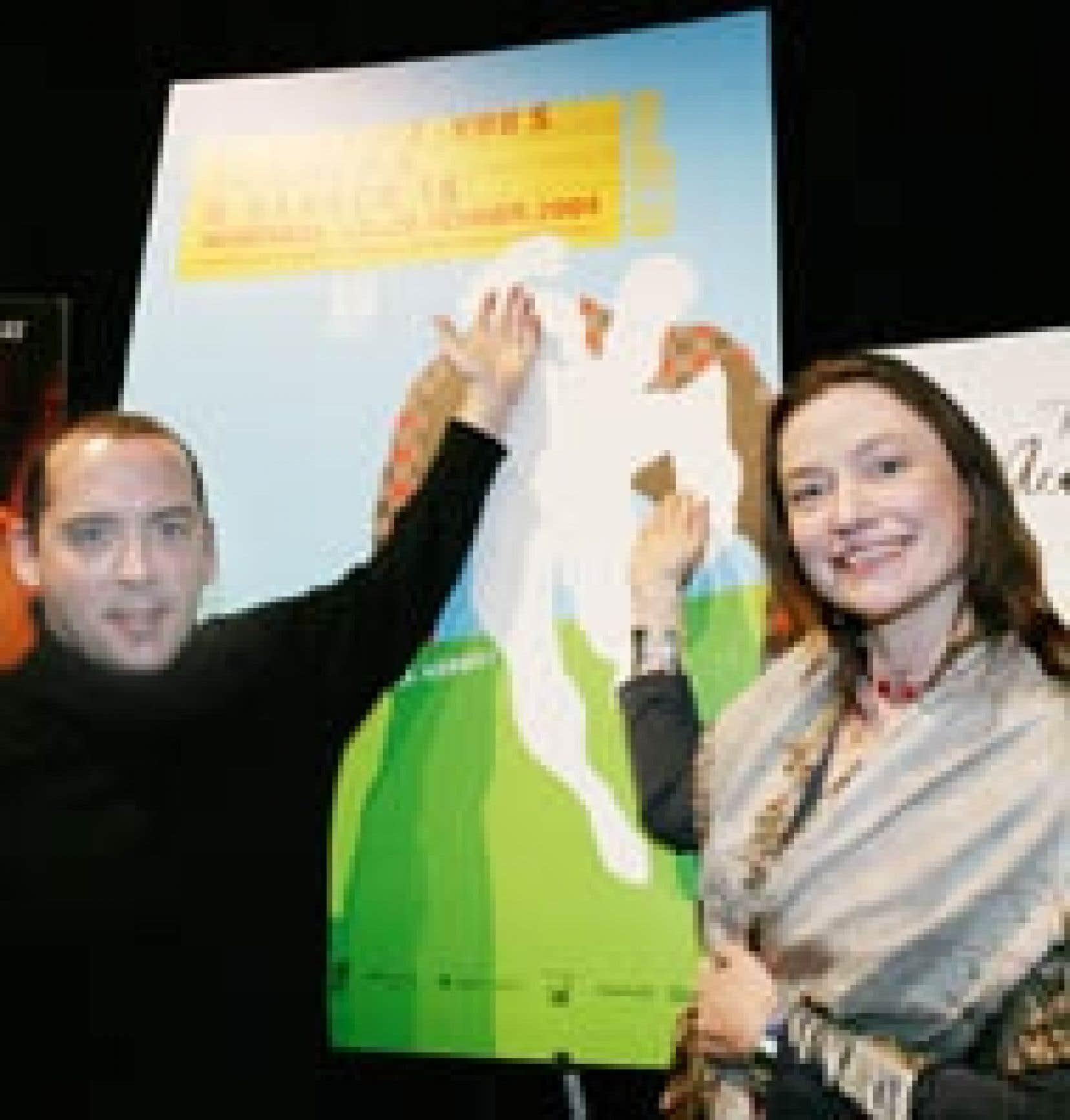 Denis Chouinard, nouveau président des Rendez-vous du cinéma québécois, était en compagnie de la directrice Ségolène Roederer hier afin de dévoiler la programmation de la 22e édition.