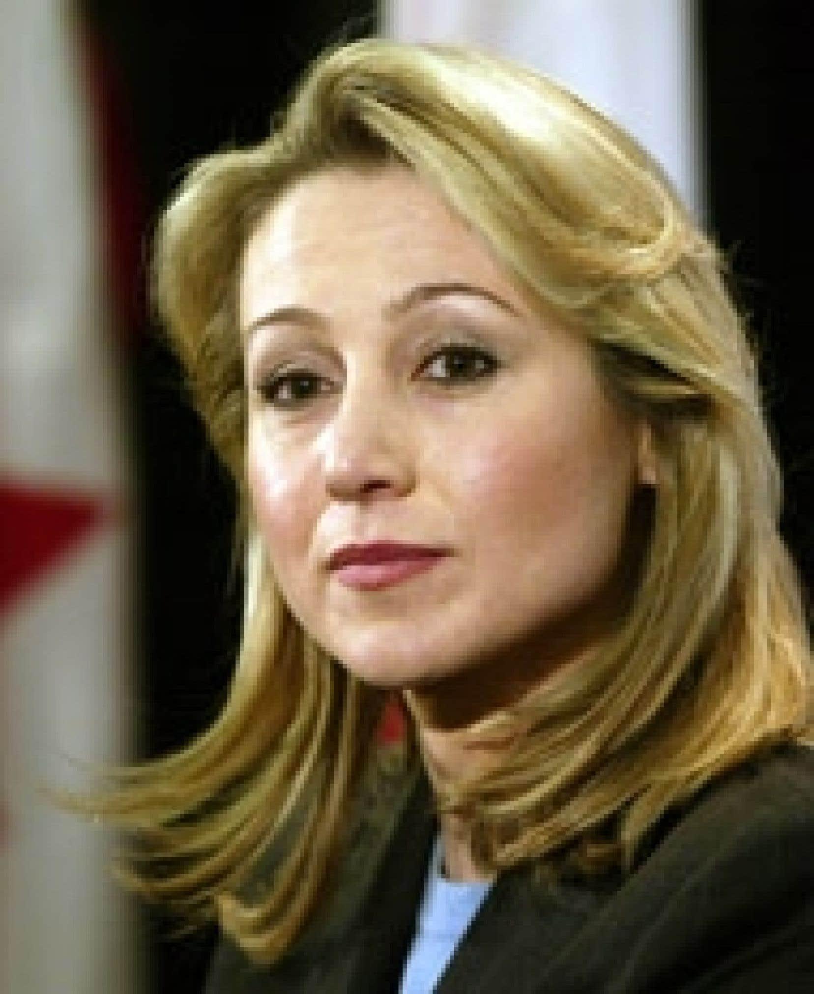 Belinda Stronach a commencé à s'intéresser de près à la politique au contact de Bill Clinton.