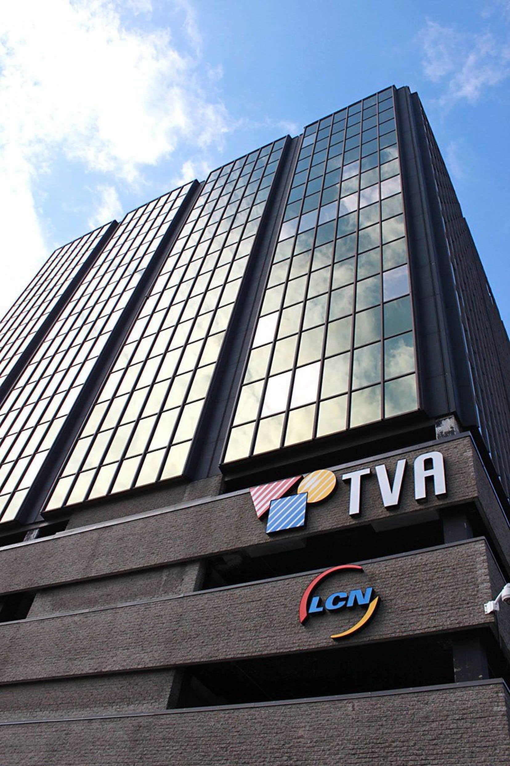 À l'instar des autres diffuseurs privés, TVA est aux prises avec une baisse de ses revenus tirés de la publicité.