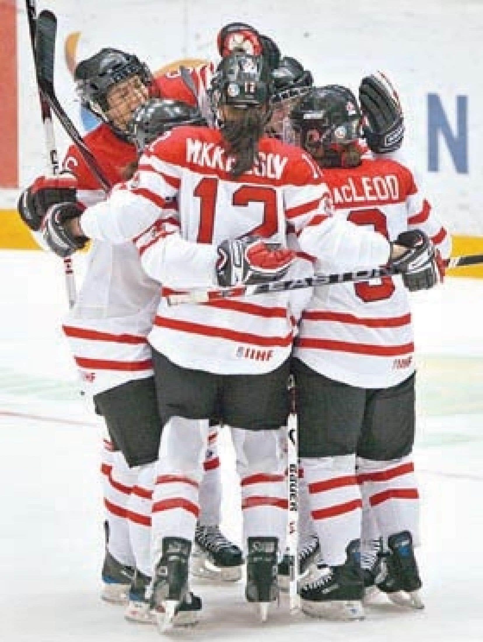 Le Canada a vengé sa première défaite contre la Suède à leur match précédent.