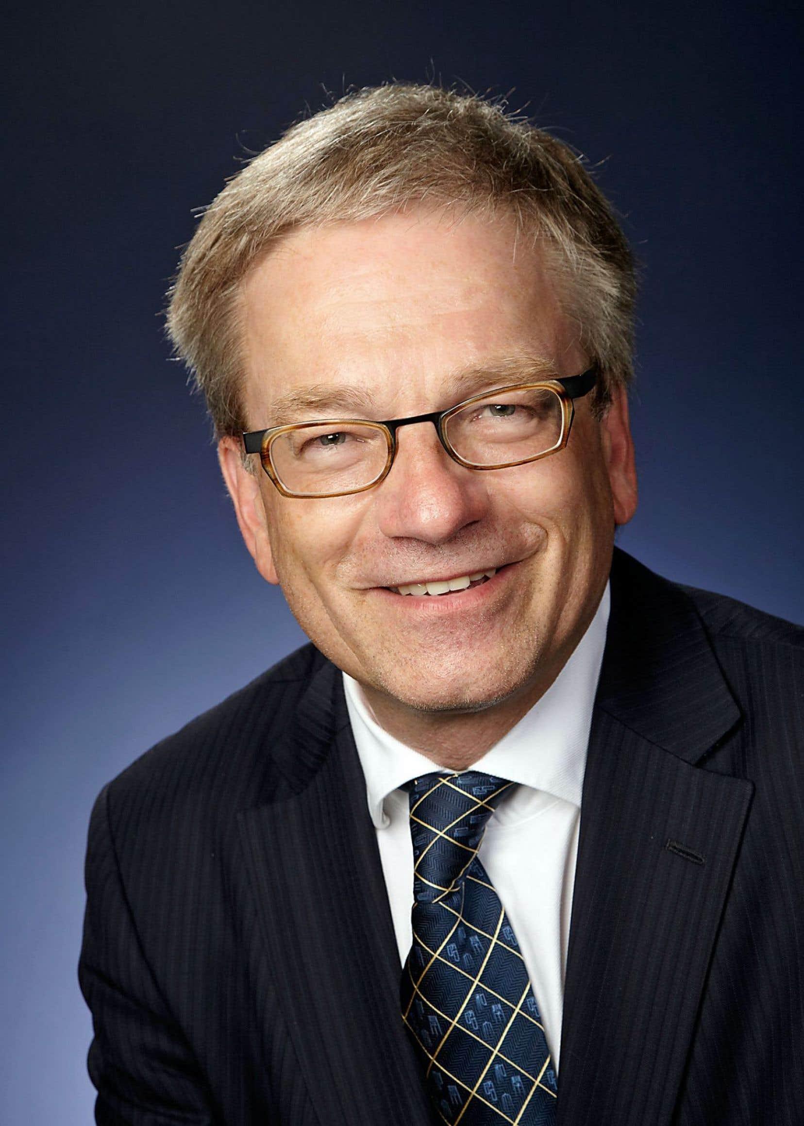 Le président d'honneur du 83eCongrès de l'Acfas, le scientifique en chef du Québec, Rémi Quirion