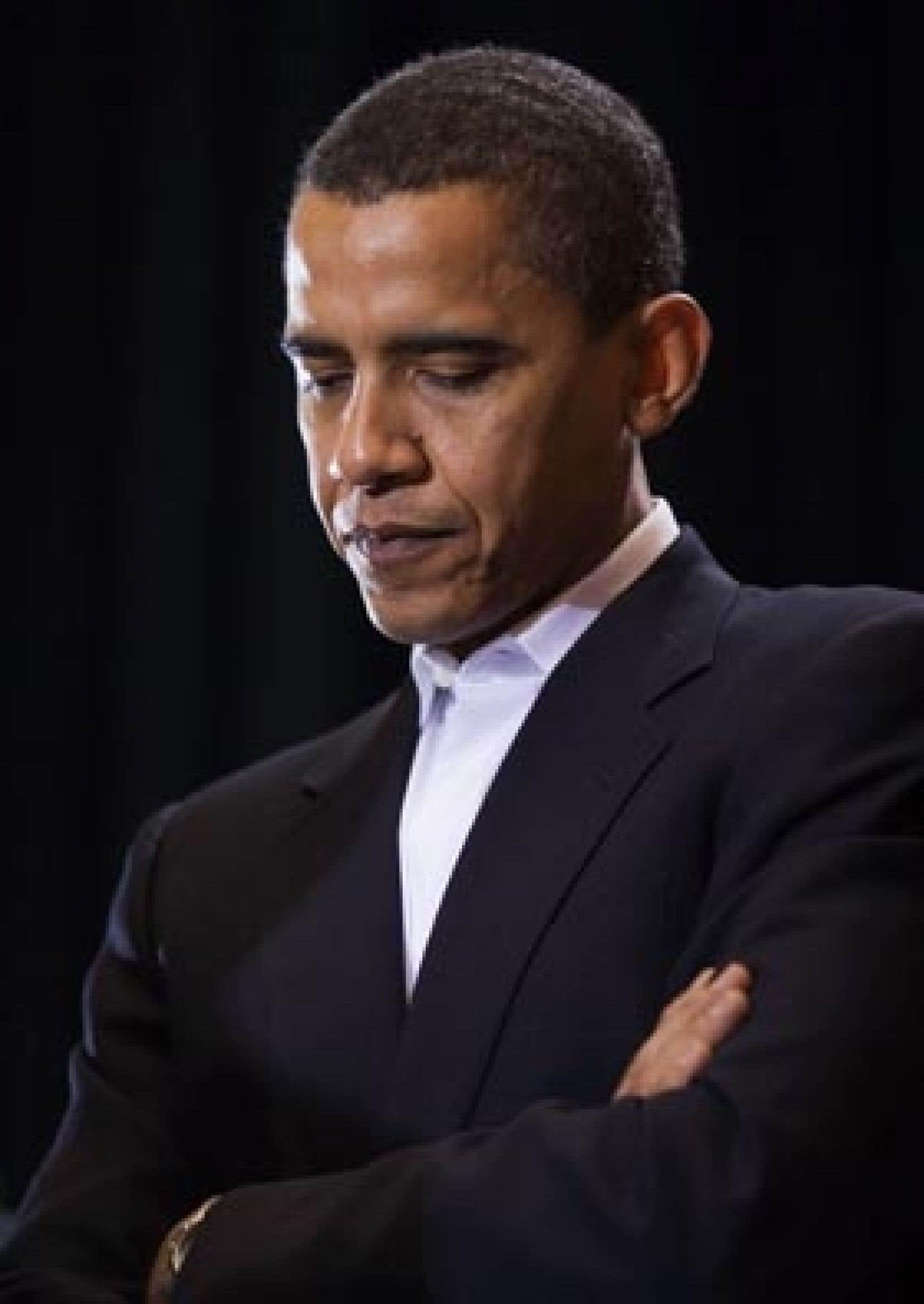 Barack Obama traverse une première période difficile à la Maison-Blanche.