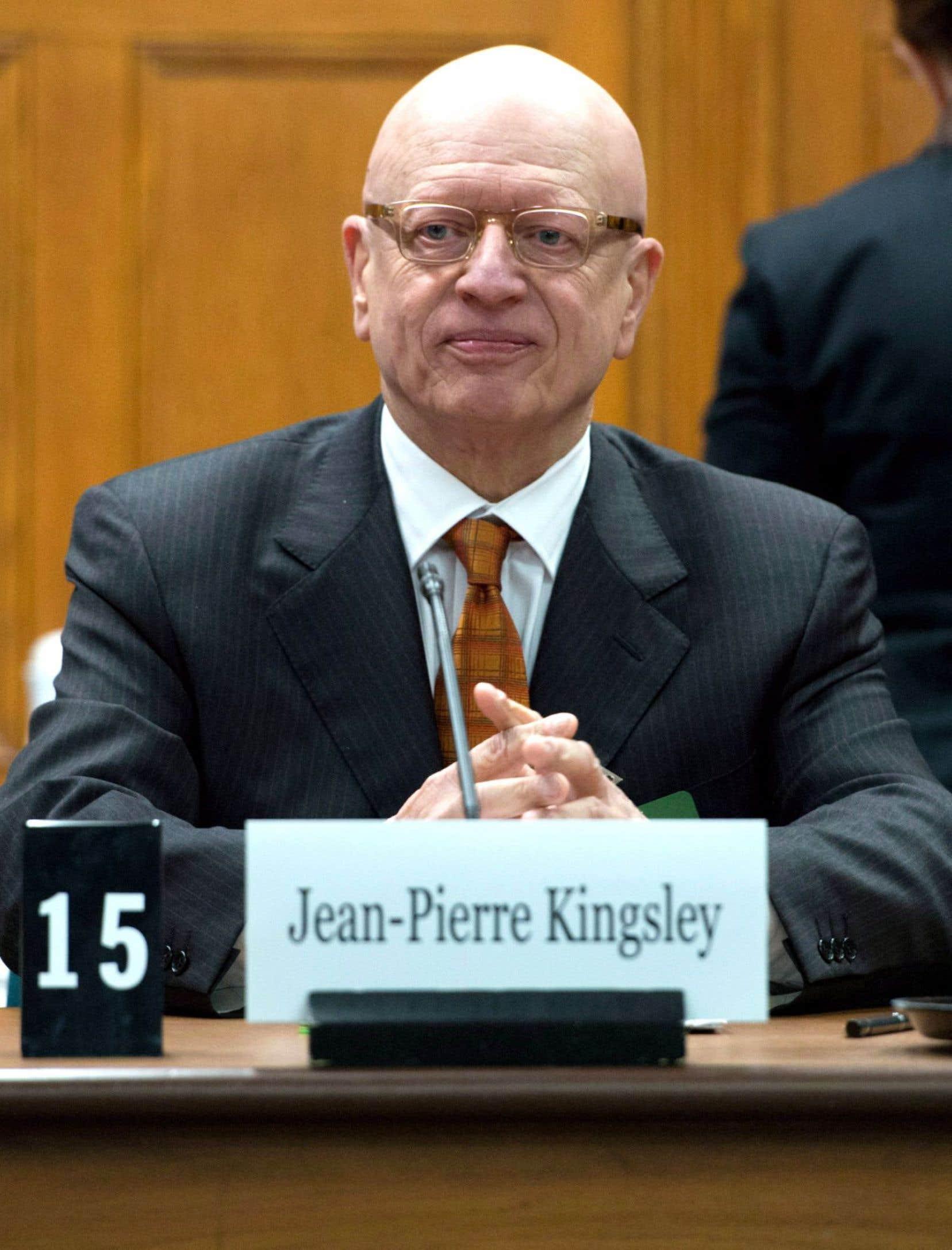 L'ancien directeur général des élection, Jean-Pierre Kingsley