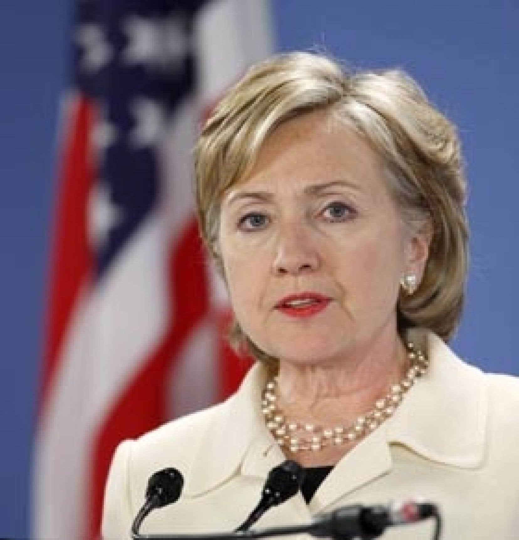 C'est la secrétaire d'État américaine, Hillary Clinton, qui a donné le ton, hier, à La Haye.