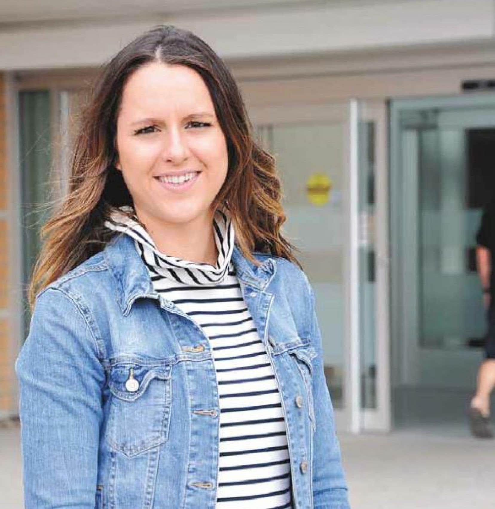 Annabelle Marsan travaille depuis près d'un an auprès de personnes atteintes d'un cancer.