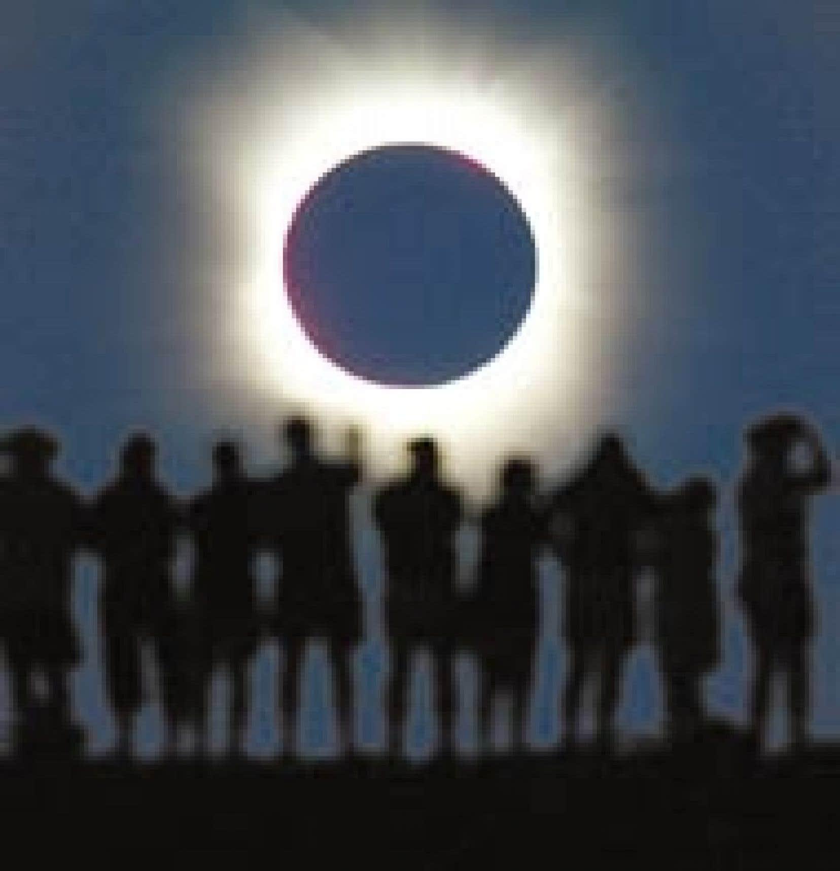 Le sud de l'Afrique et l'Australie ont été plongés dans la pénombre hier sous l'effet d'une éclipse totale du Soleil. Vers 5h15 GMT, la Lune s'est intercalée entre le Soleil et la Terre, projetant son ombre sur la côte ouest de l'Afrique.
