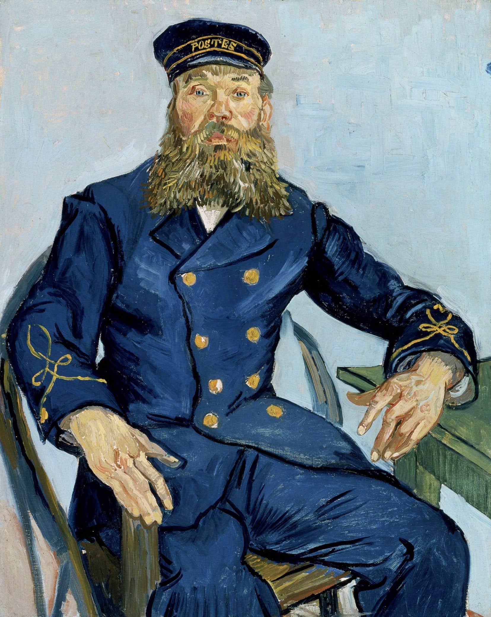 Vincent Van Gogh, «Le postier Joseph Roulin», 1888