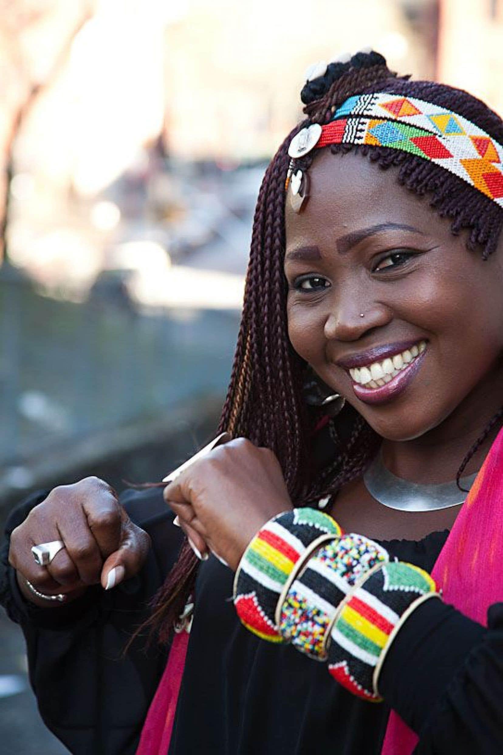 Awa Sangho vient du blues, celui du désert au nord du Mali.