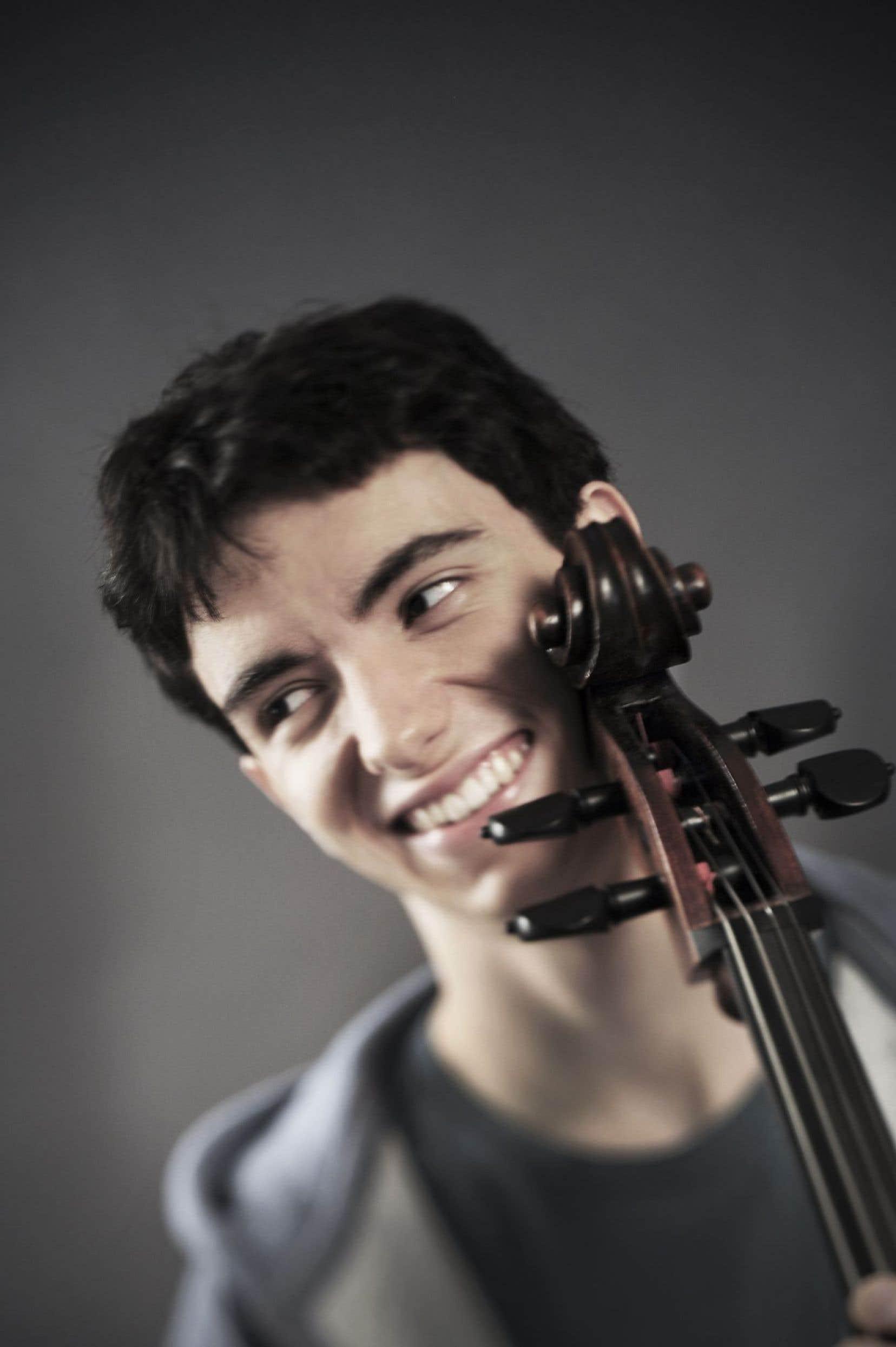 Le violoncelliste québécois Stéphane Tétreaultsemble entrer dans une nouvelle maturité musicale.