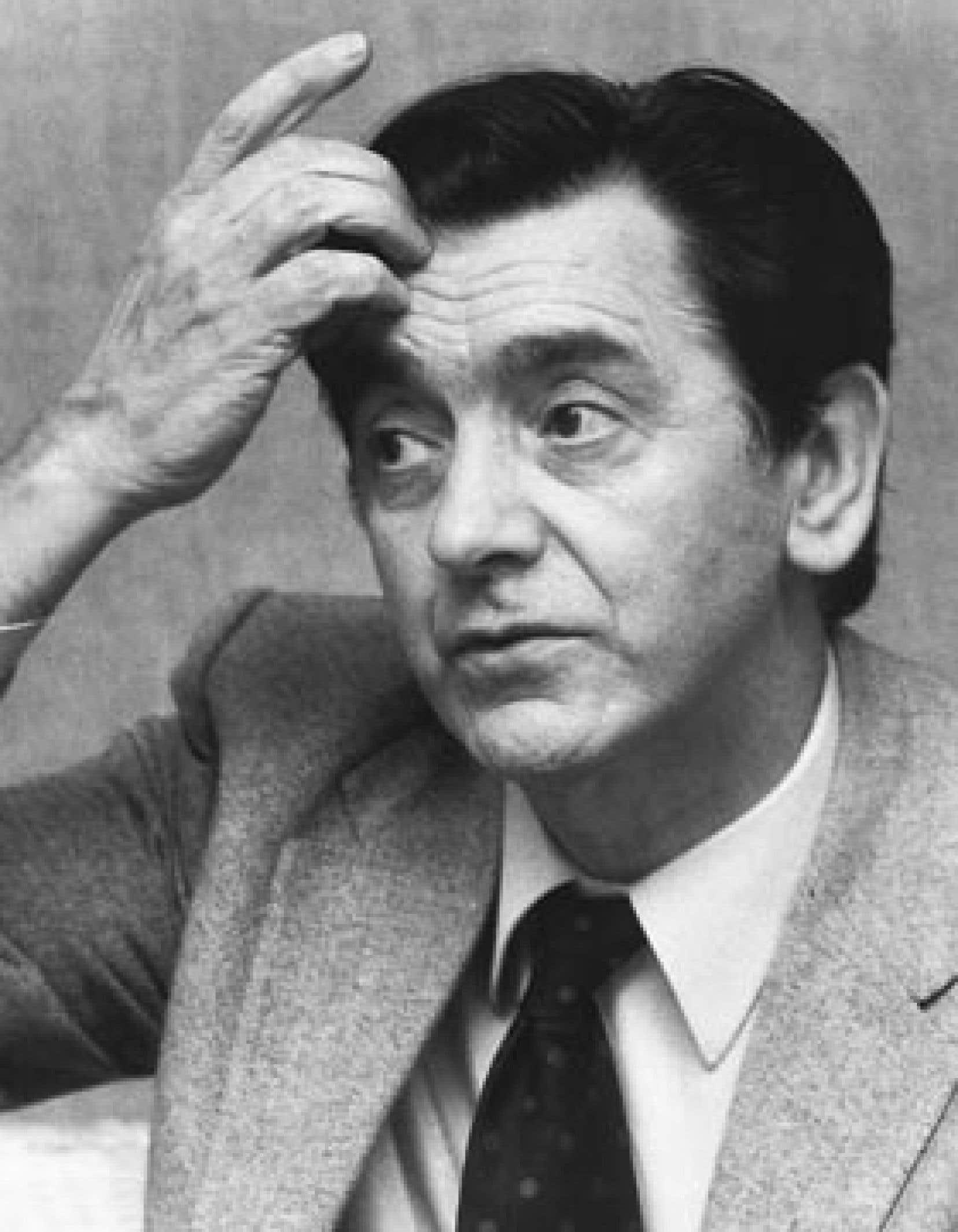 Camille Laurin photographié en 1980