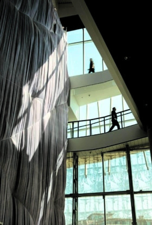 Le pavillon Espace 400e Dan Hanganu, Côté Leahy Cardas architectes. Projet finaliste aux Prix d'excellence de l'Ordre des architectes du Québec 2009.