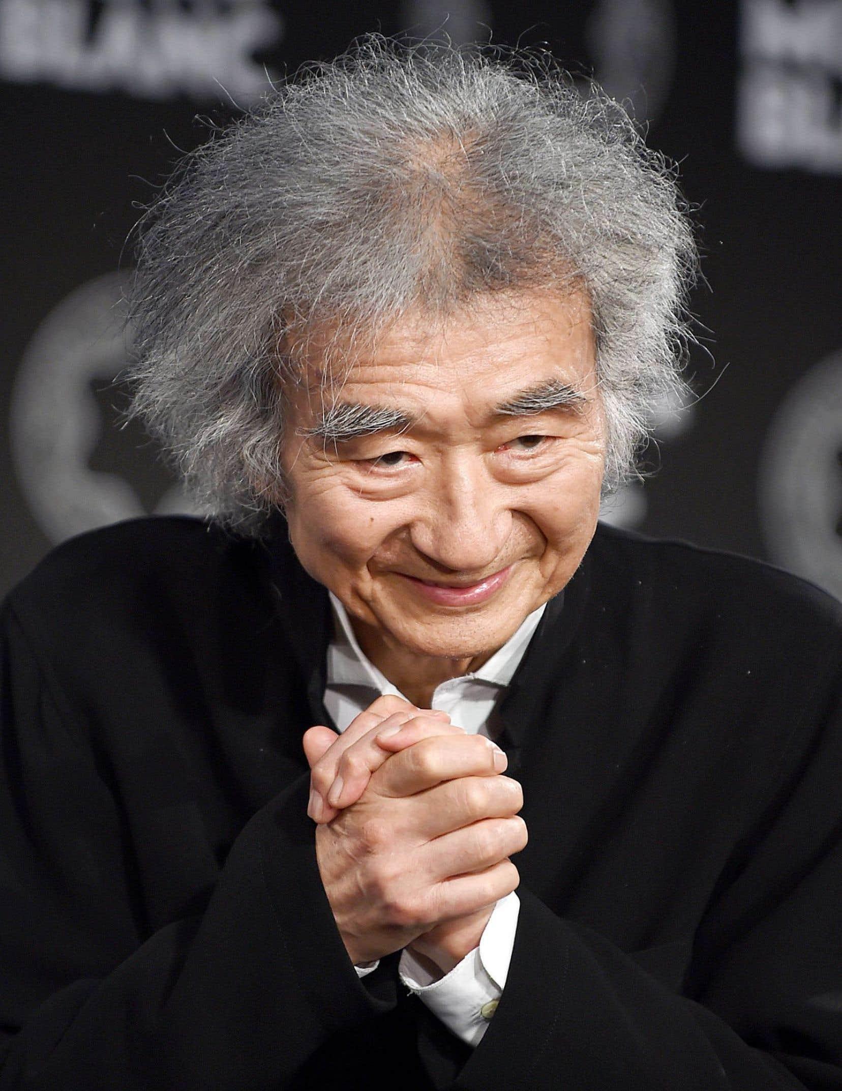 Seiji Ozawa a célébré son 80eanniversaire de naissance cet été.