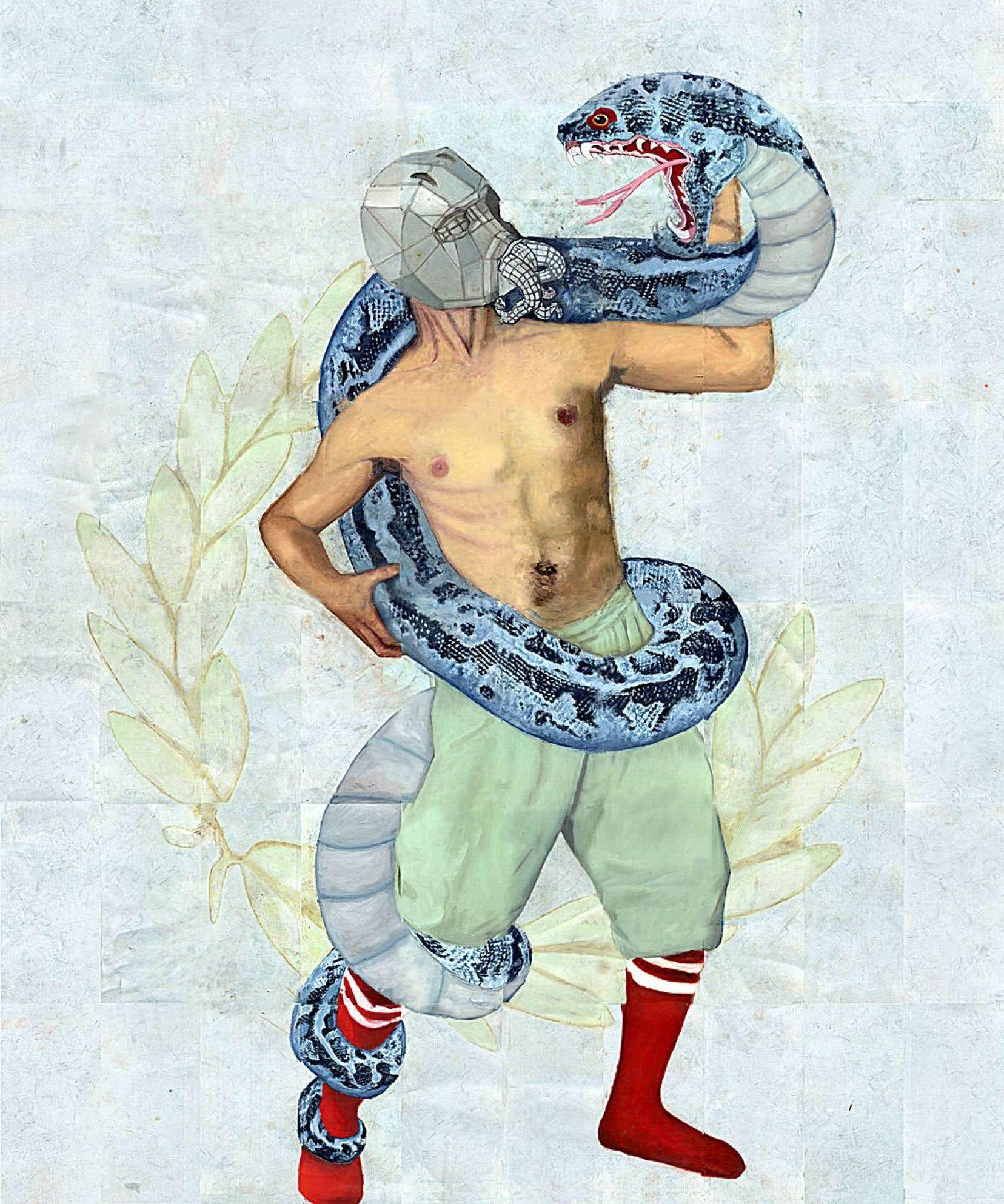 L'œuvre «Expiation4» de Pierre Durette.