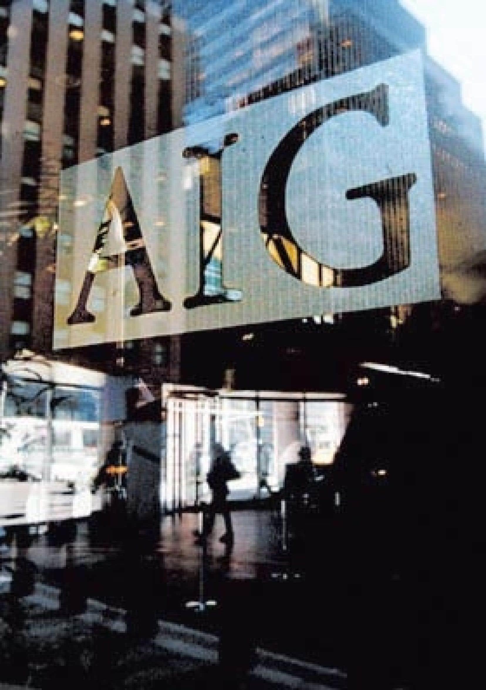 L'assureur AIG, sauvé de la faillite par les pouvoirs publics qui ont dû y injecter plus de 170 milliards $US, a provoqué la fureur des contribuables américains et même de la Maison-Blanche lorsque l'annonce de versements de primes massives aux