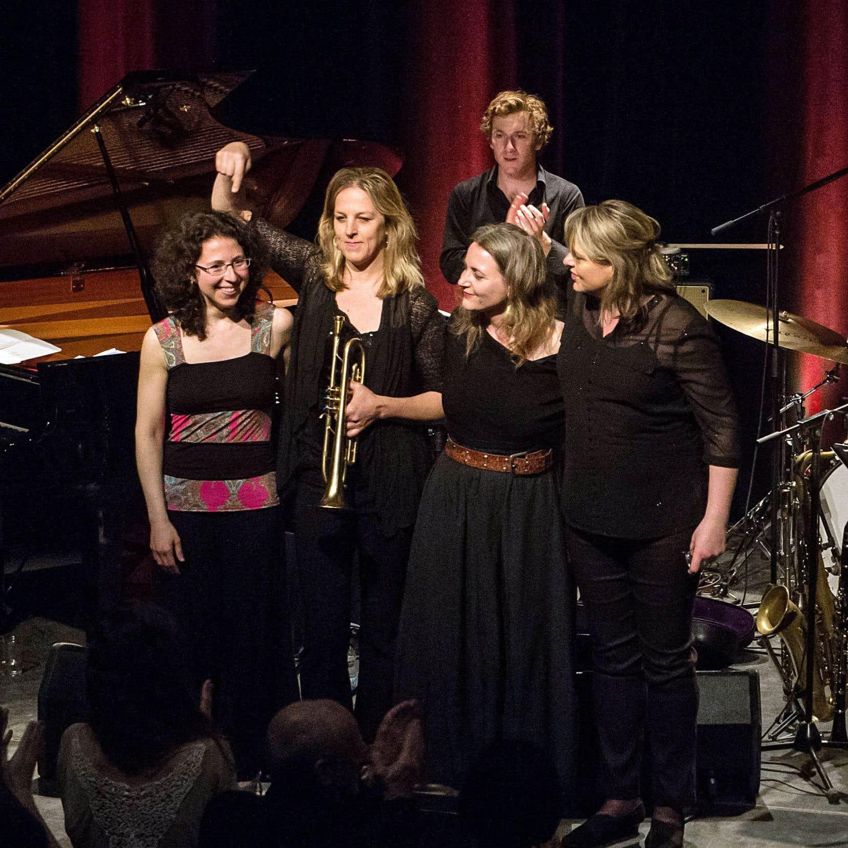 Le concert d'ouverture sera consacré à la musique orchestrale des femmes sous la direction de la pianiste Marianne Trudel avec l'Orchestre national de jazz de Montréal.