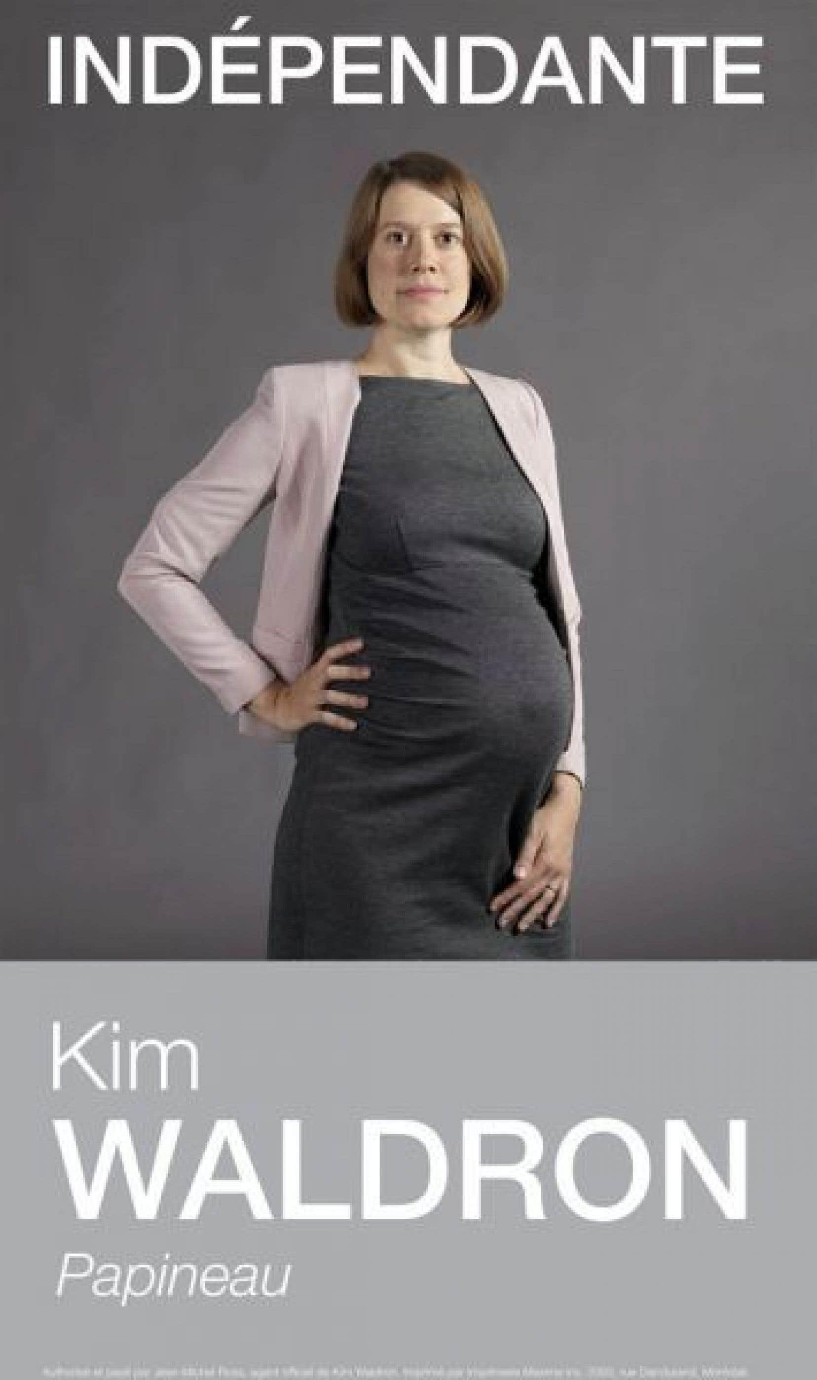 La pancarte électorale de Kim Waldron, dans l'expo <em>Public Office</em>, 2014.