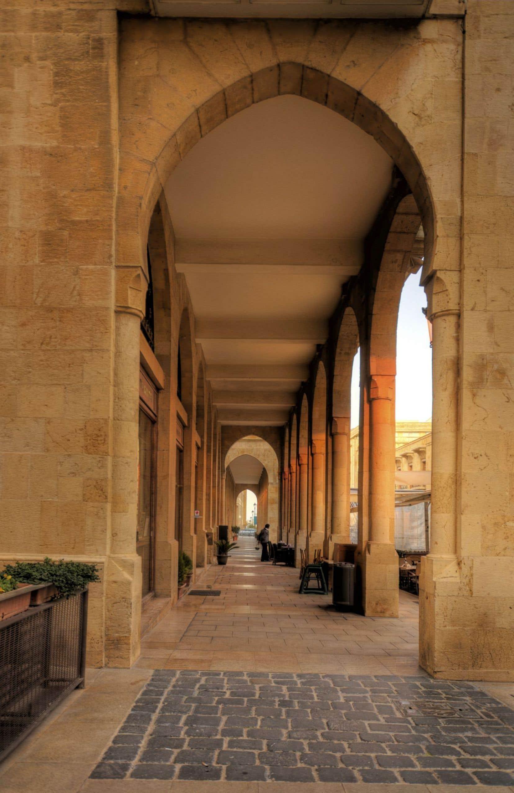 Le centre-ville de Beyrouth
