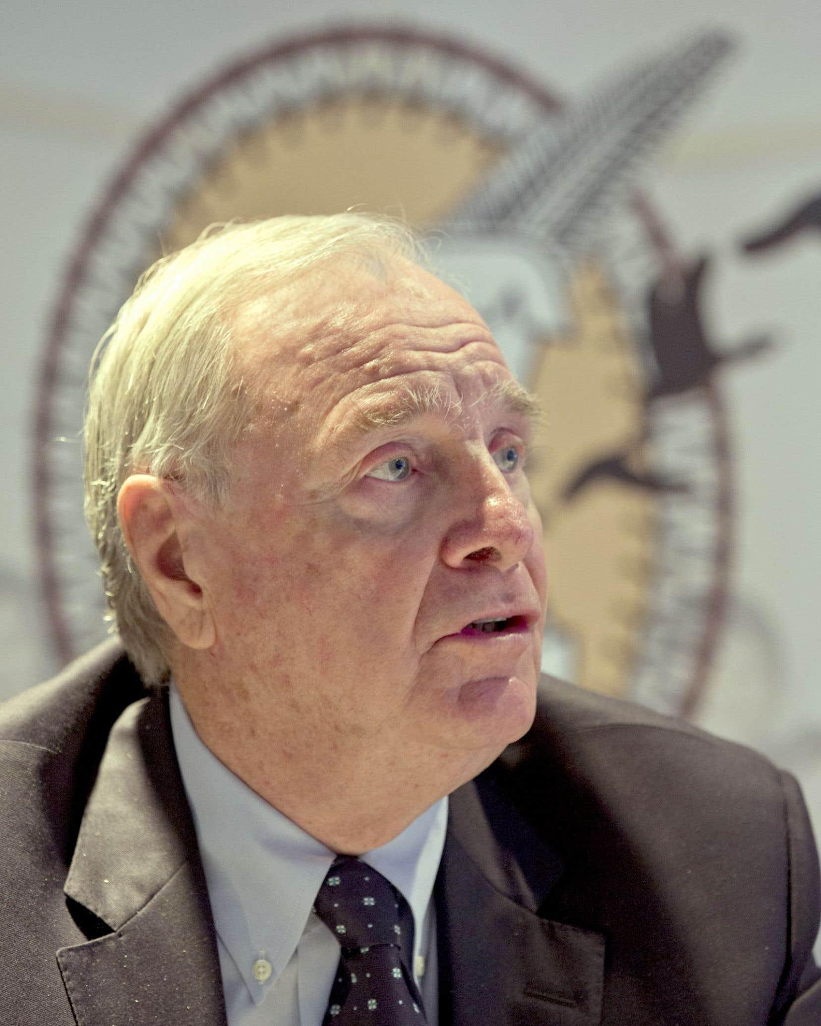 Paul Martin a commenté le plan Trudeau lors de son passage à un symposium sur l'éducation autochtone.