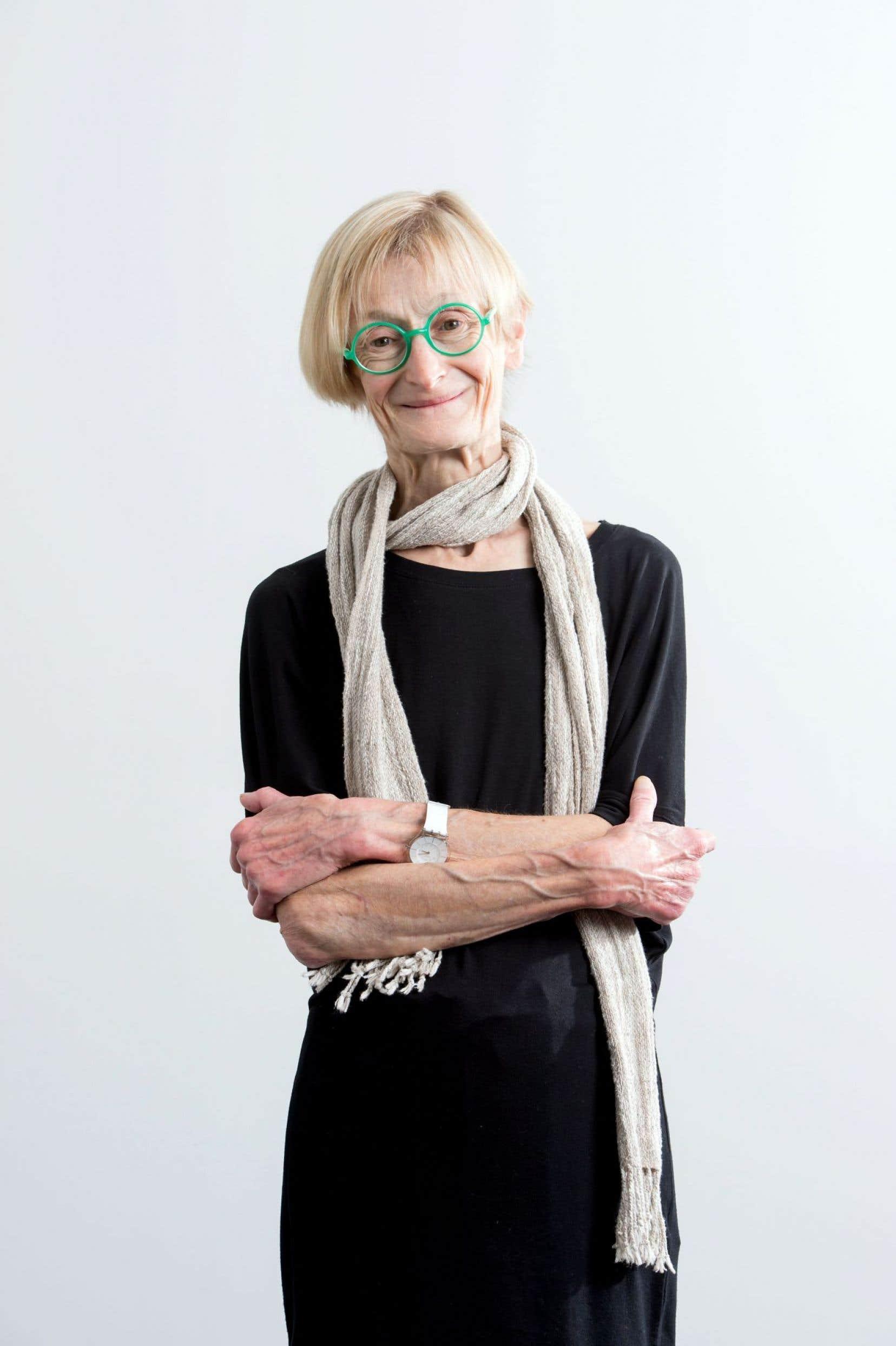 La lauréate du prix Urgel-Archambault en sciences physiques, mathématiques, informatique et génie Françoise Martine Winnik
