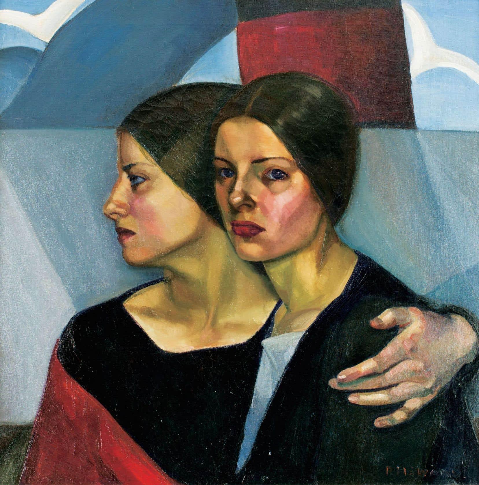 Cette œuvre de Prudence Heward, Immigrantes (1928), n'a pas été exposée depuis 1948.