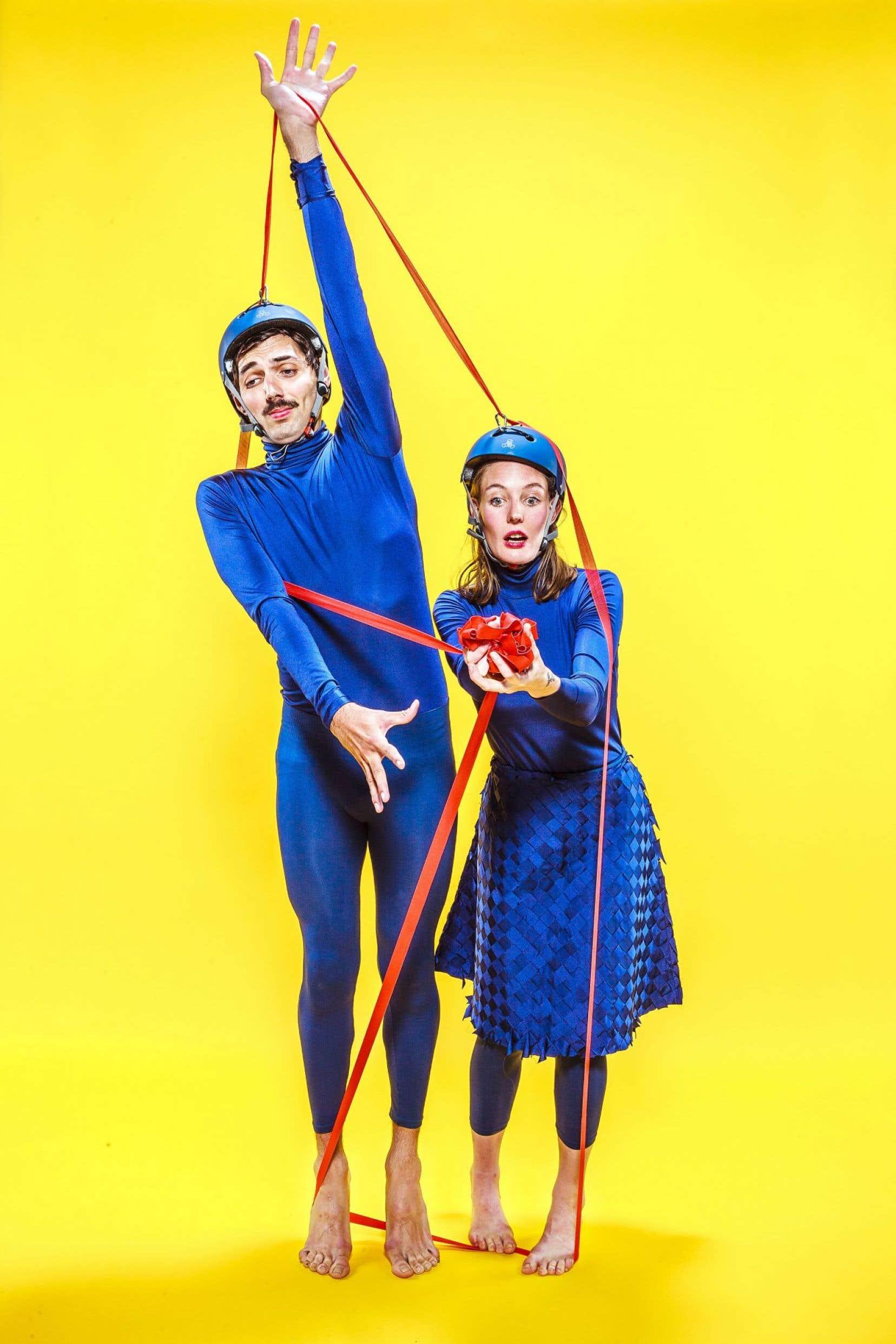 «Tendre», destiné à un public à partir de quatreans, est interprété par Brice Noeser et Katia Petrowick.